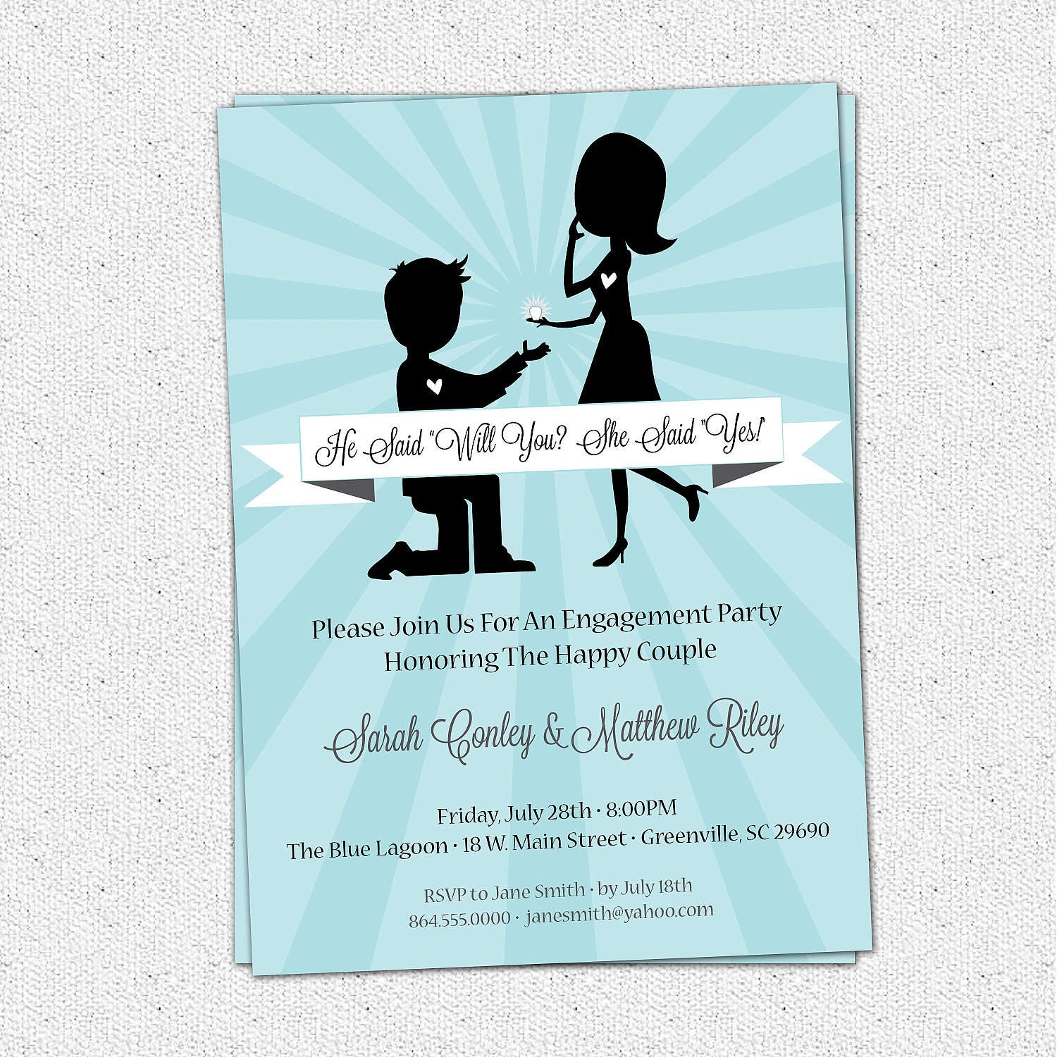 010 Engagement Party Invitations Templates Stunning Cloveranddot - Free Printable Engagement Party Invitations