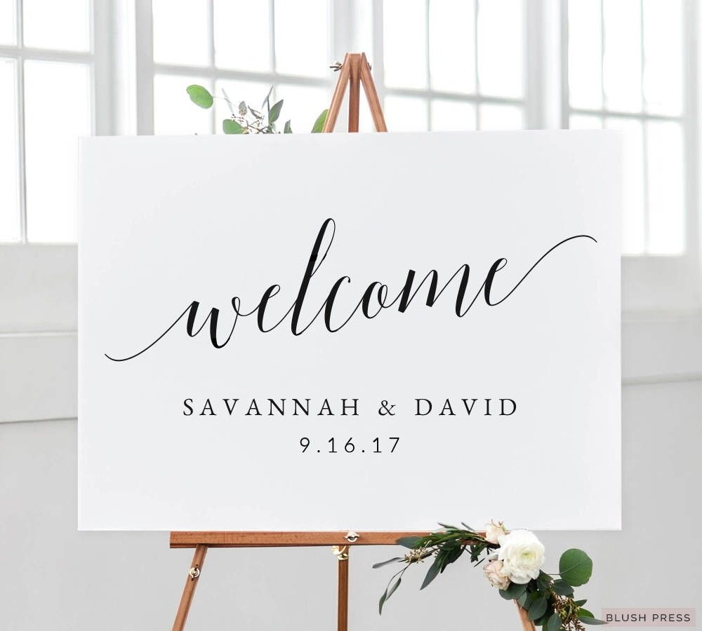 010 Wedding Welcome Sign Template Phenomenal Ideas Etsy Free - Free Printable Welcome Sign Template