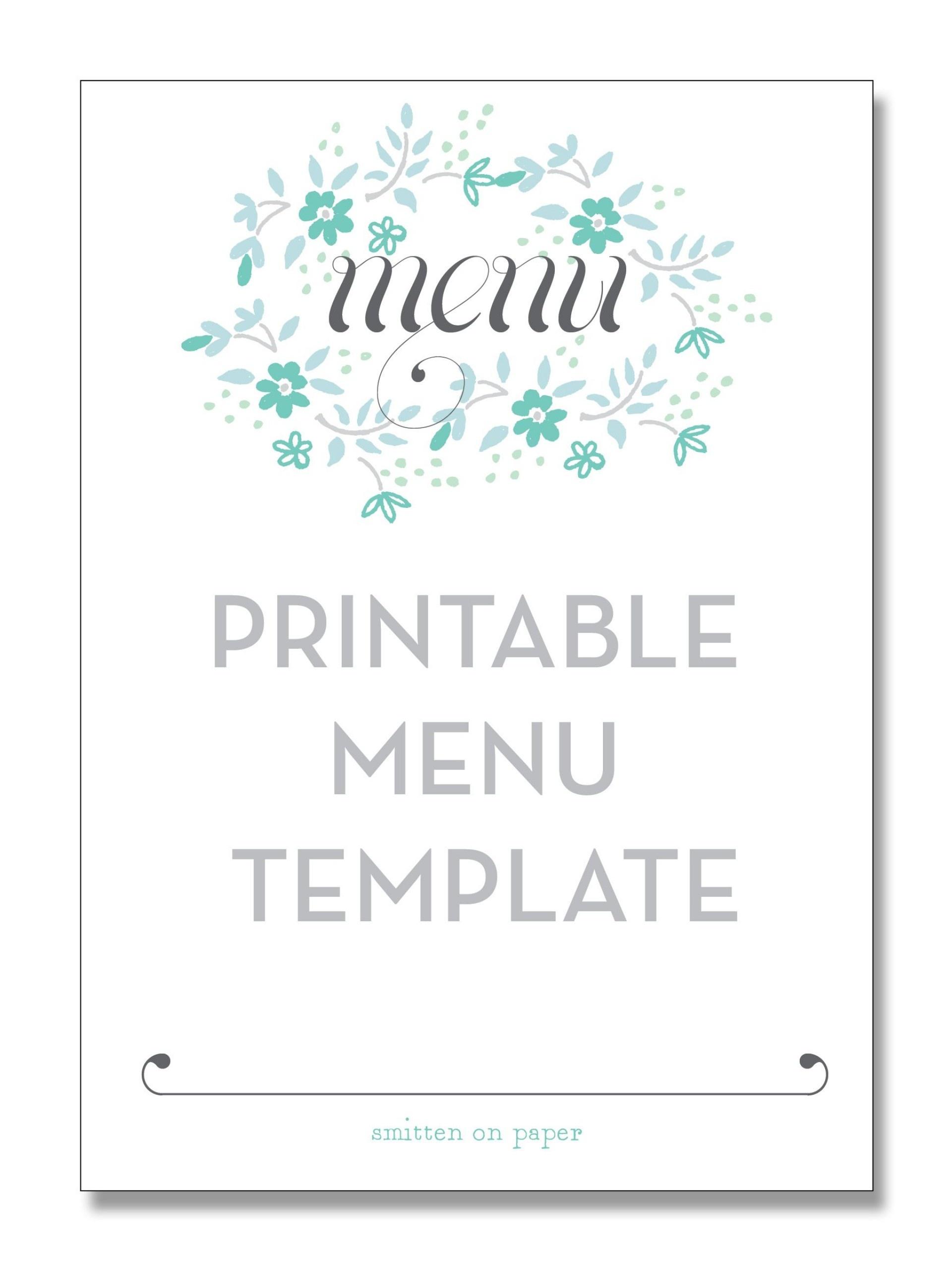 013 Menu Template Free Printable Restaurant Menus Pics Templates - Free Printable Menu Maker