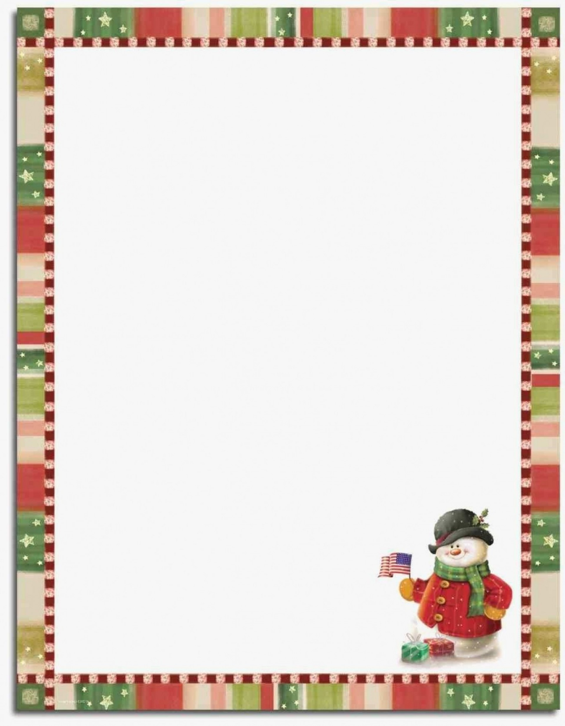 014 Template Ideas Free Printable Elegant Stationery Templates - Free Printable Snowman Stationery