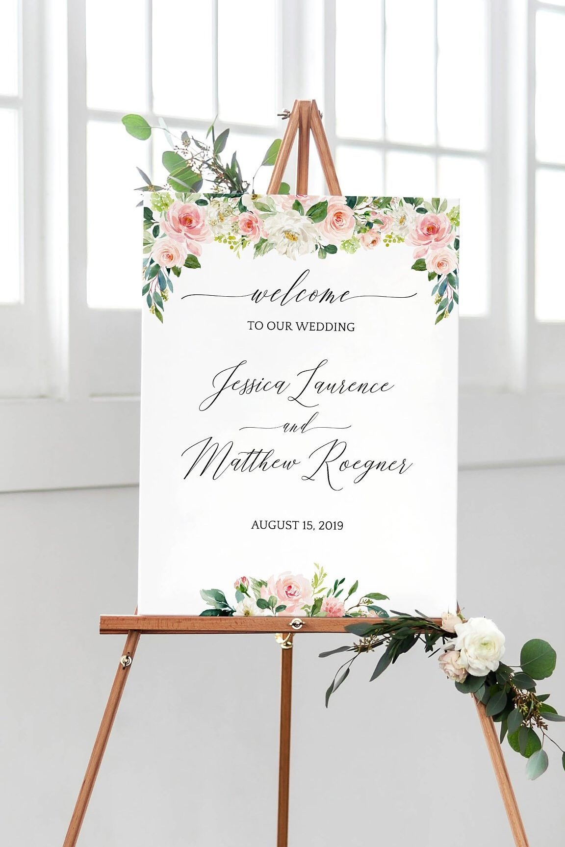 015 Wedding Welcome Sign Template Phenomenal Ideas To Our Free Etsy - Free Printable Welcome Sign Template