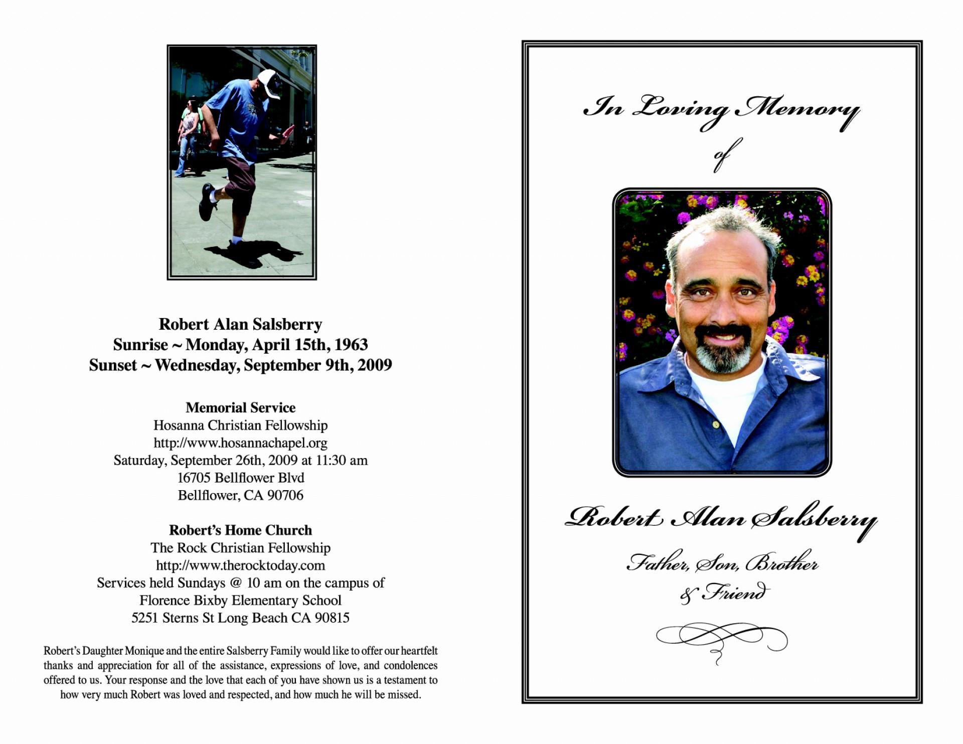 018 Memorial Card Template Free Download Simple Funeral Prayer Cards - Free Printable Funeral Prayer Card Template