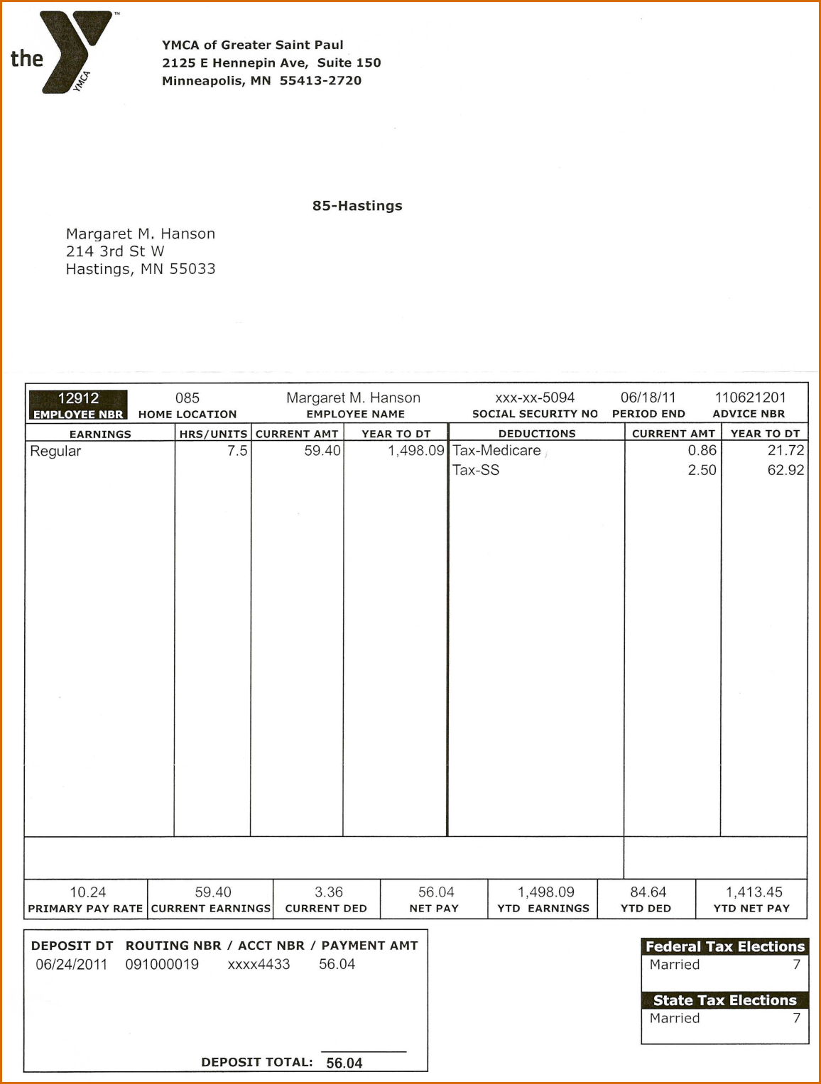 019 Template Ideas Pay Stub Free Paycheck Stubs Templates For To - Free Printable Pay Stubs