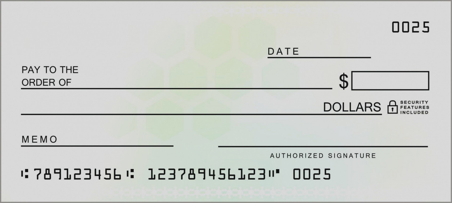 021 Fake Blank Check Template Cheque Free Awesome Payroll Templates - Free Printable Blank Checks