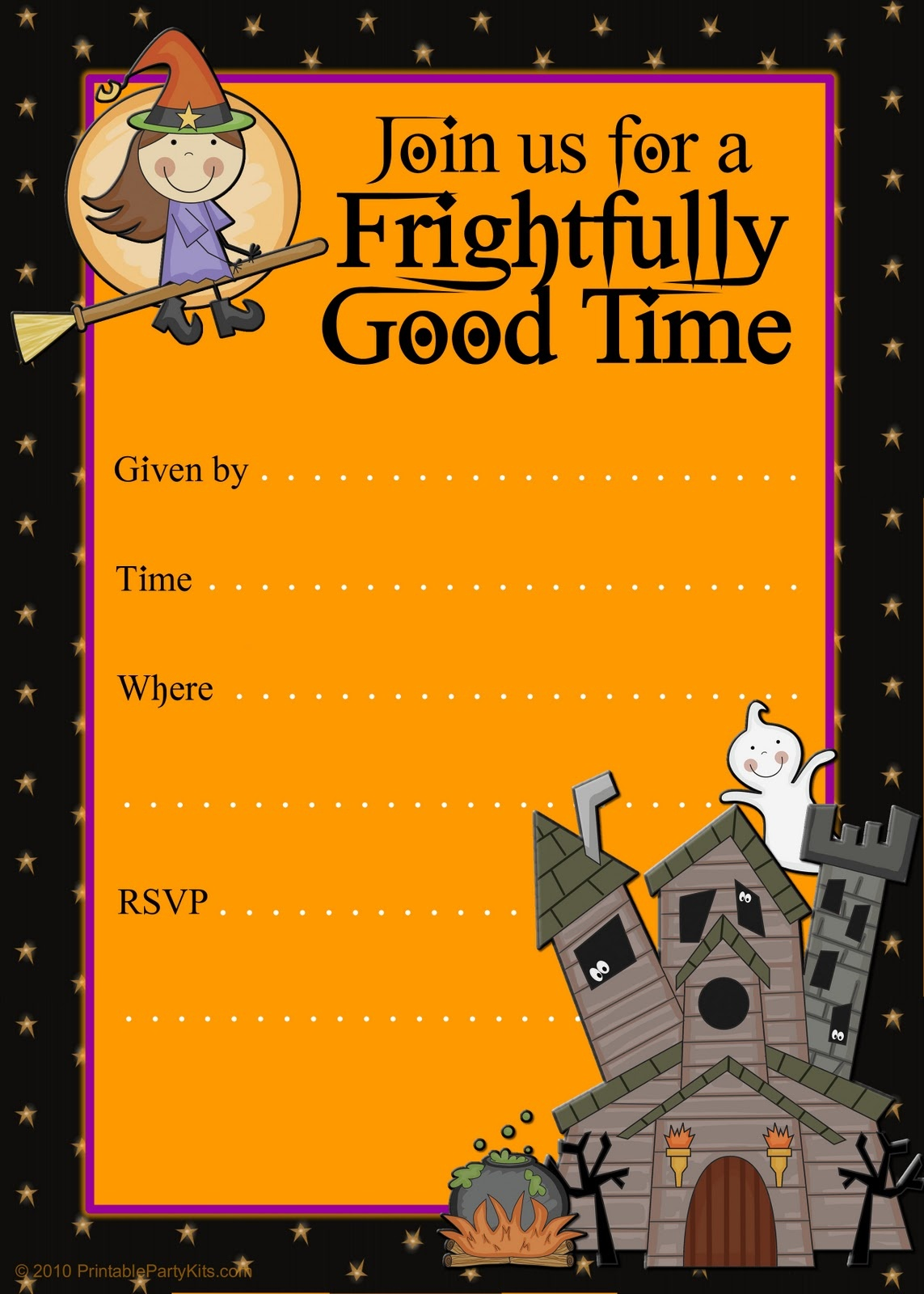024 Birthday Party Flyer Templates Free Template Ideas Halloween - Free Printable Flyers For Parties