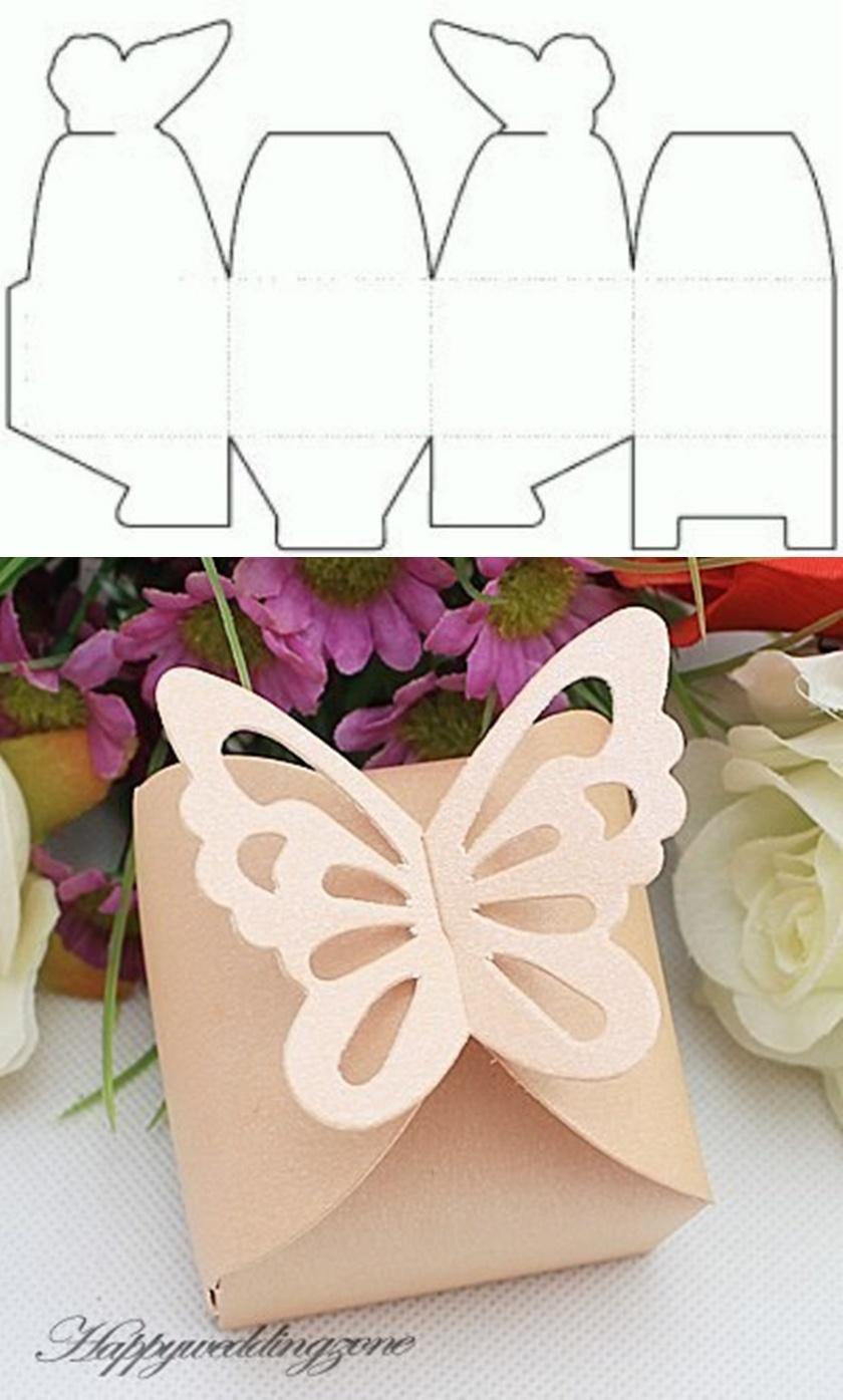 10+ Beautiful Diy Patterns Of Candy Gift Box - Printable Box Templates Free Download
