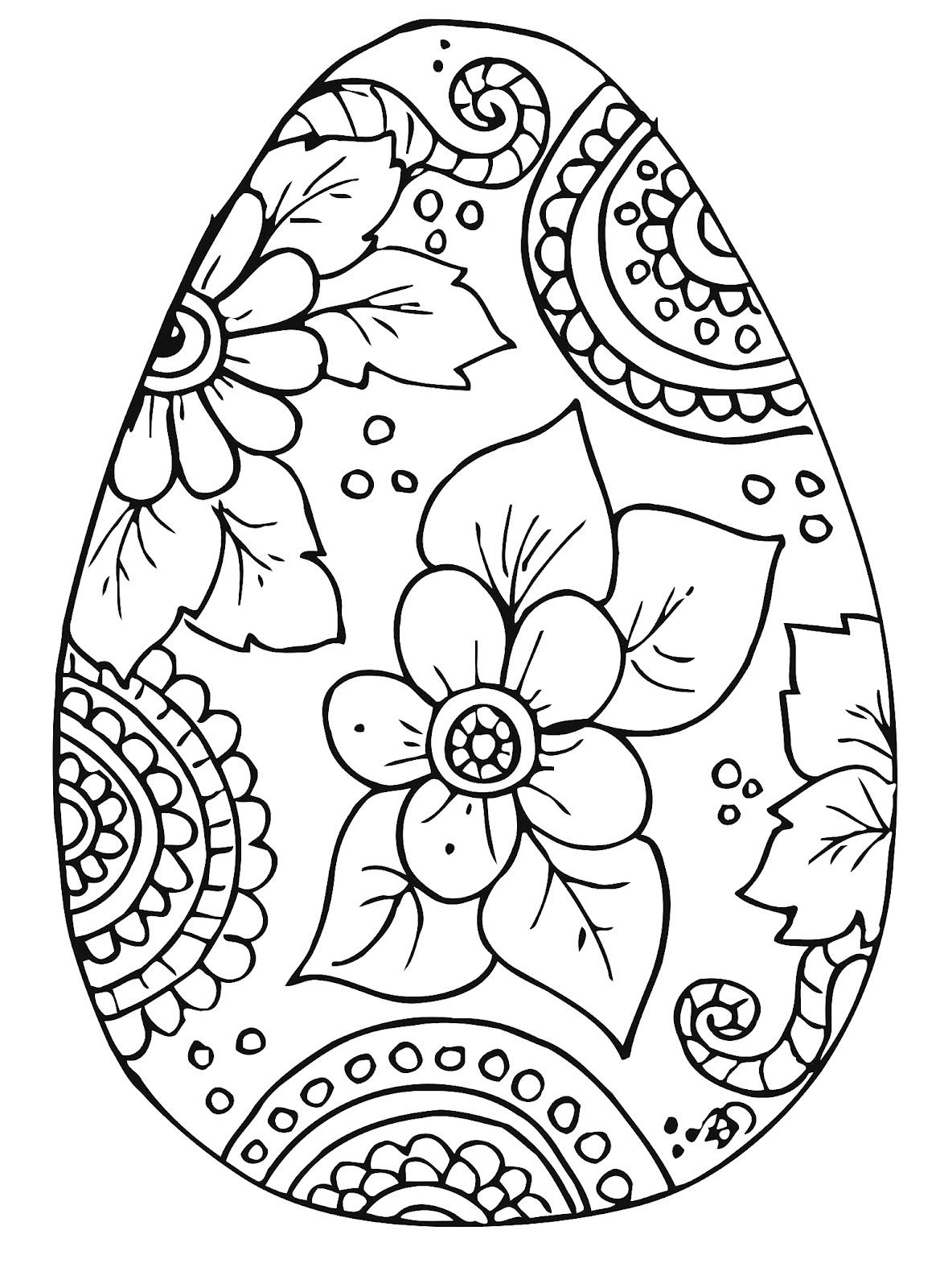 10 Cool Free Printable Easter Coloring Pages For Kids Who've Moved - Free Printable Easter Coloring Pages