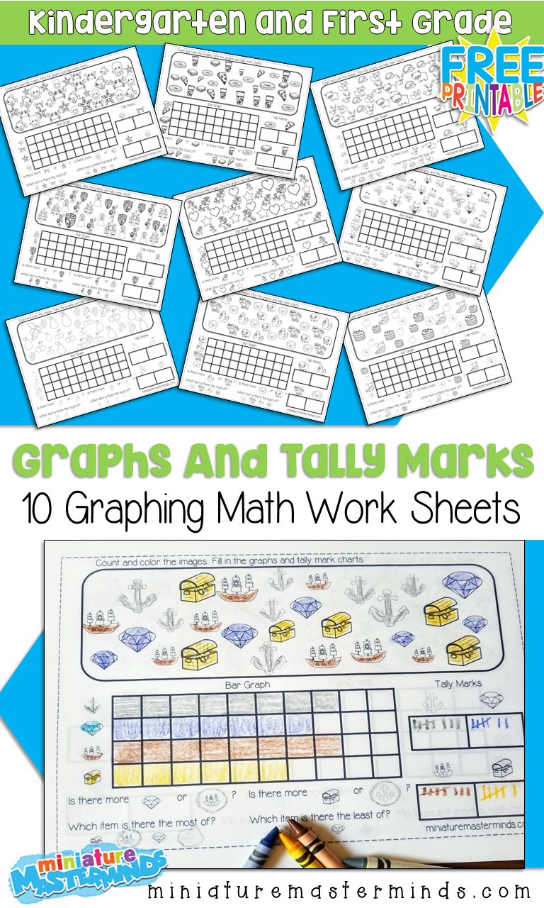 10 Free Printable Graphing Worksheets For Kindergarten And First - Free Printable Graphs For Kindergarten