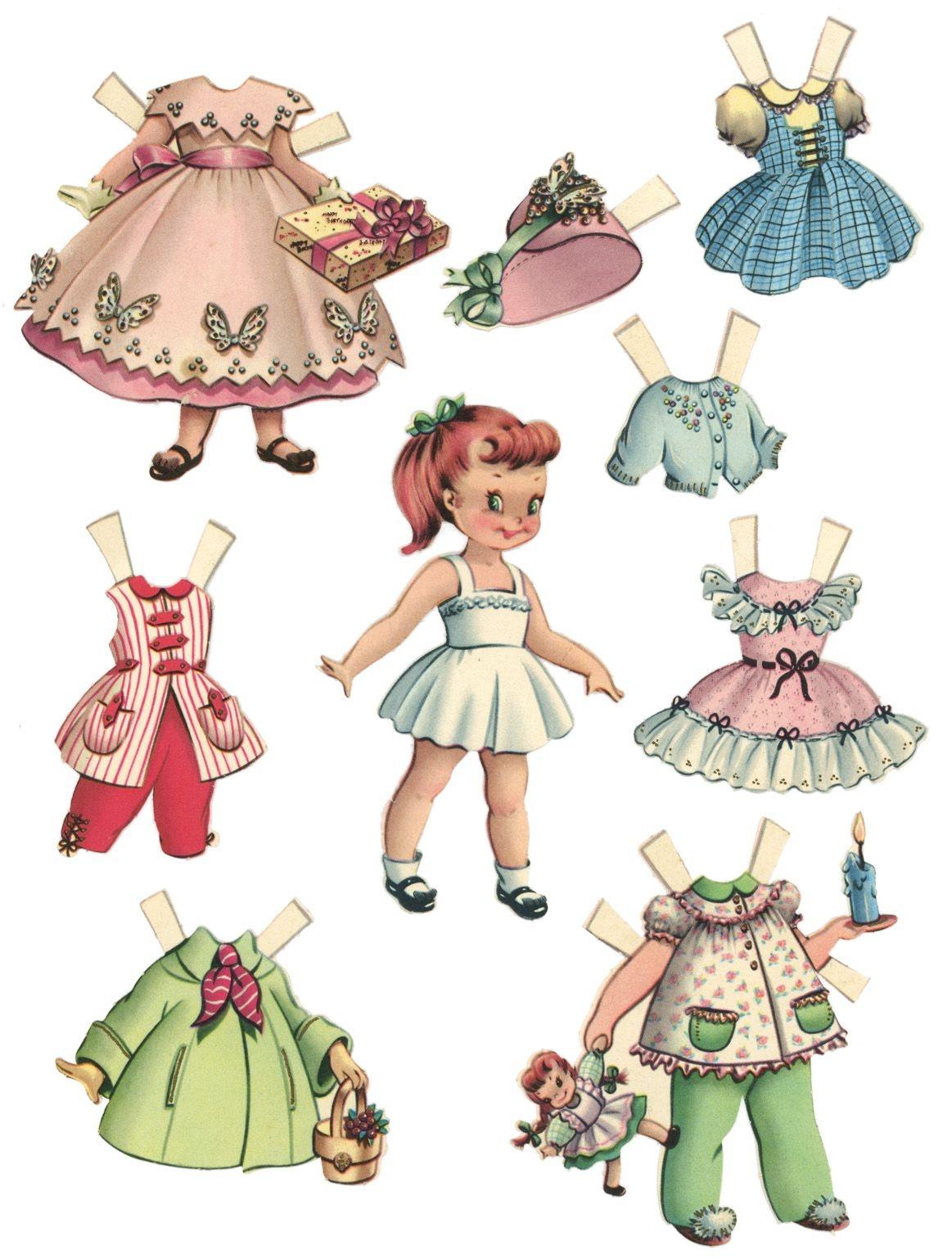 10 Free Printable Paper Dolls | Paper Dolls | Paper Dolls Printable - Free Printable Paper Dolls