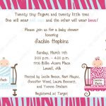 10 Jungle Twins Baby Shower Invitations With Envelopes. Free Return   Free Printable Twin Baby Shower Invitations
