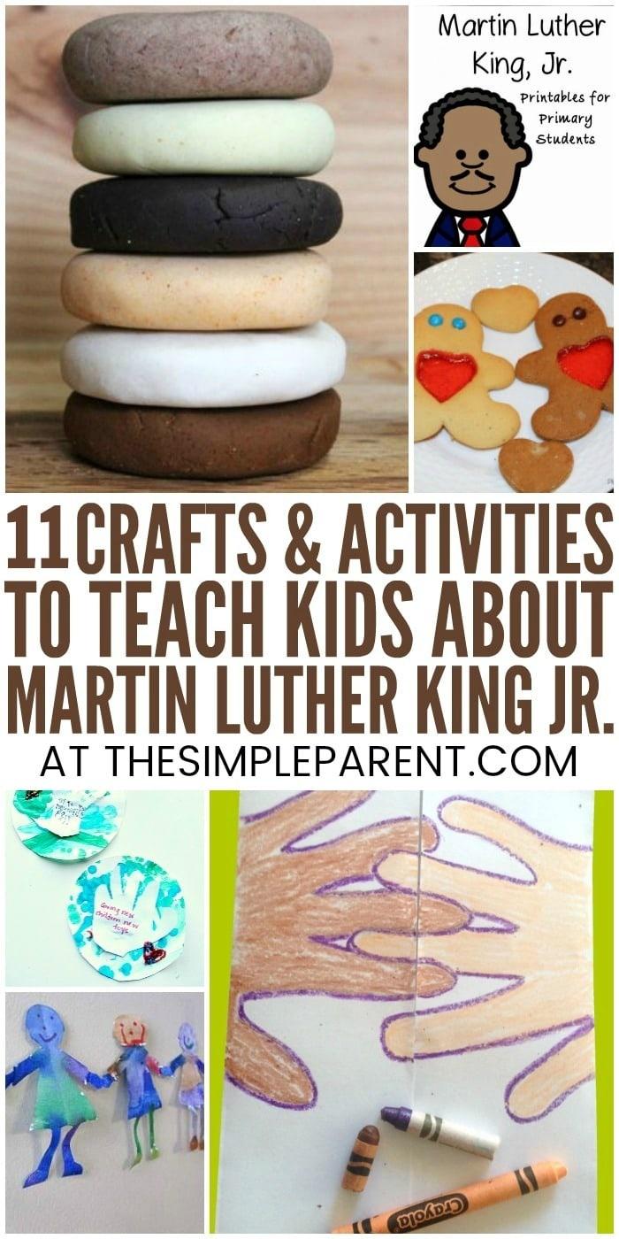 Free Printable Martin Luther King Jr Worksheets For Kindergarten