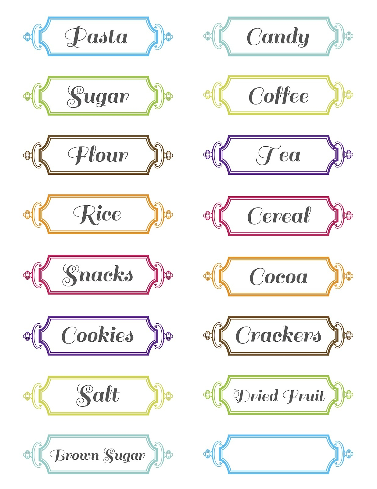 11 Free Printable Label Design Template Images - Printable Round - Free Printable Labels