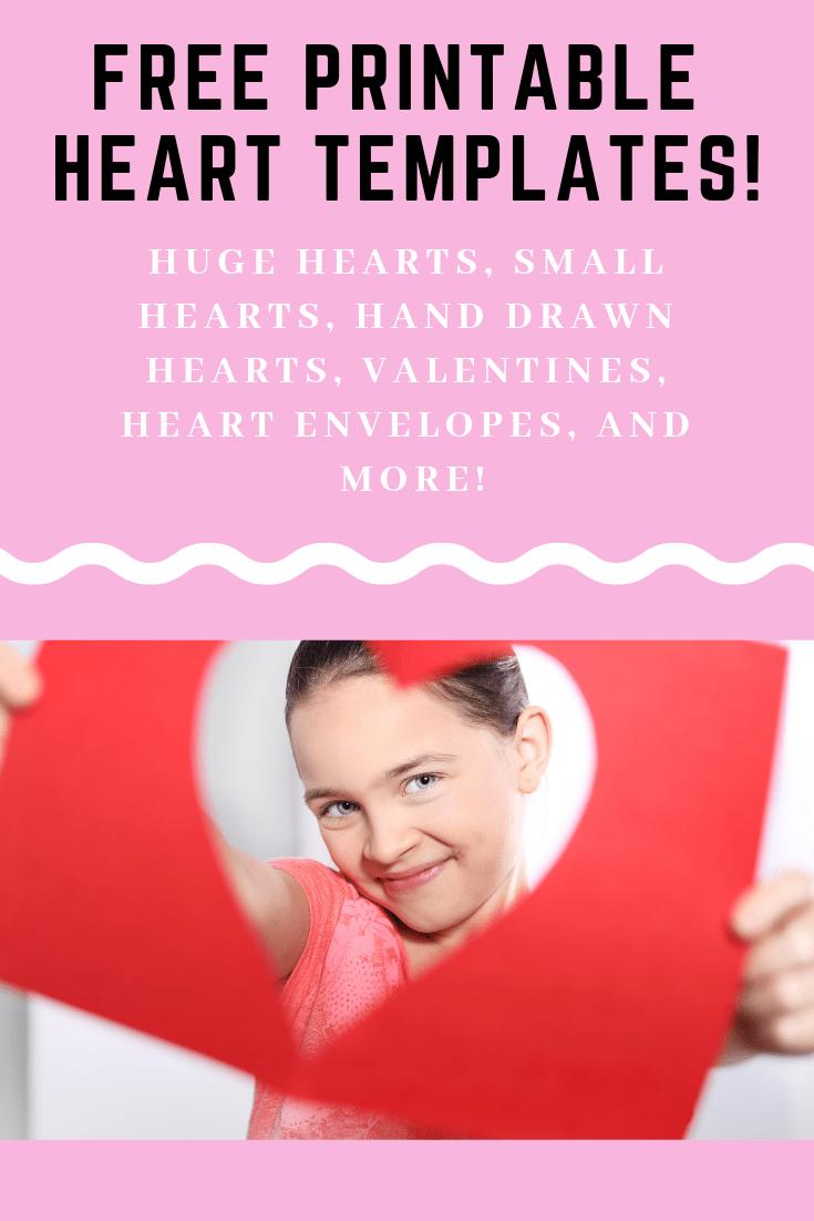 12+ Heart Template Printables - Free Heart Stencils And Patterns - Free Printable Heart Templates
