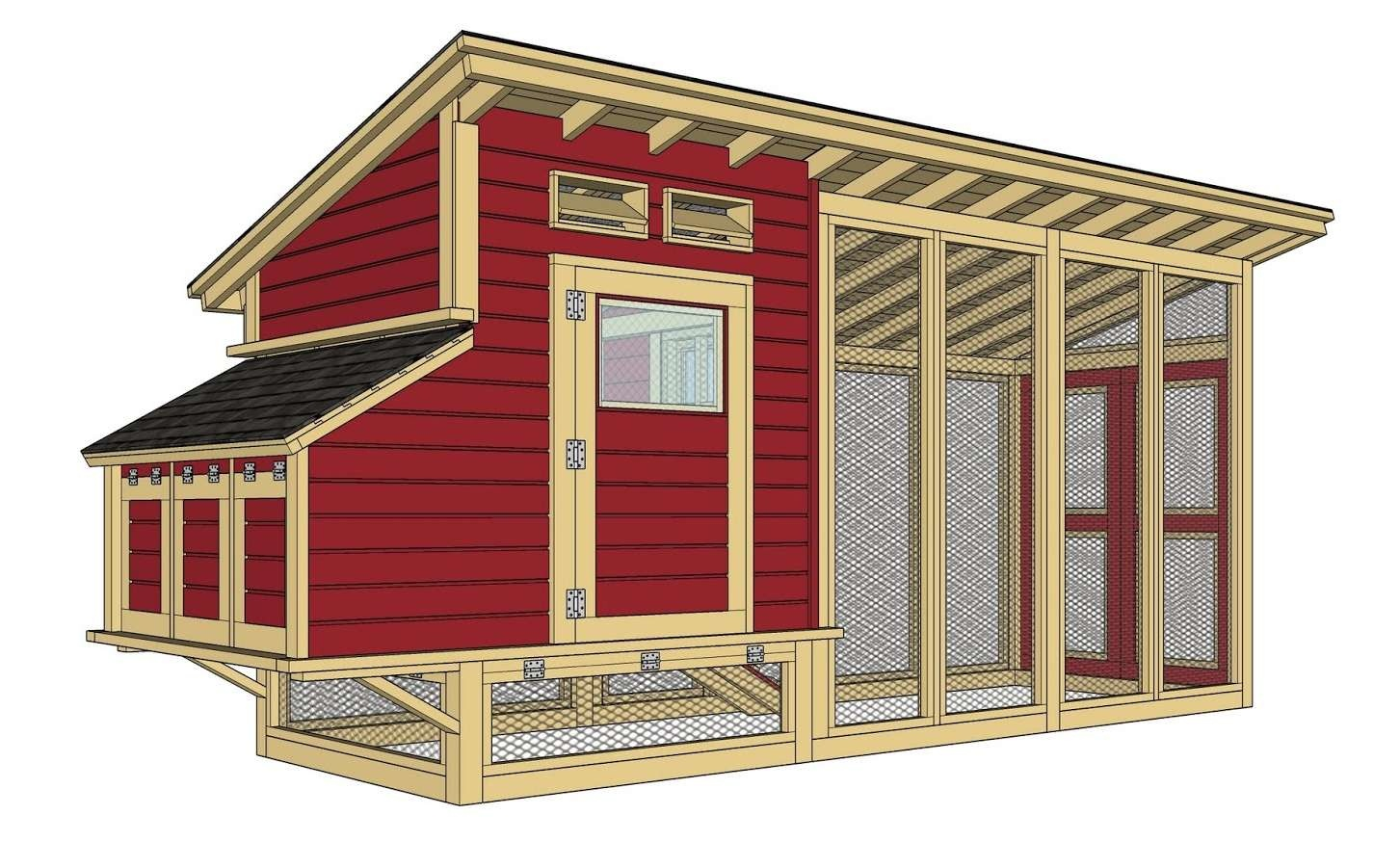 13 Free Chicken Coop Plans You Can Diy This Weekend - Free Printable Chicken Coop Plans