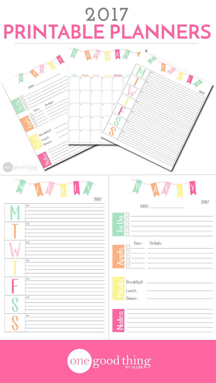 14 Brilliant Ways To Get Organized · Jillee | Tips And Tricks - Free Printable Organizer 2017