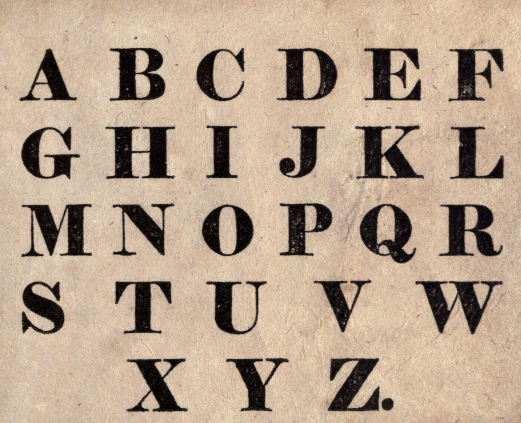 14 Fonts Alphabet Free Printable Images - Free Printable Letter - Free Printable Fonts