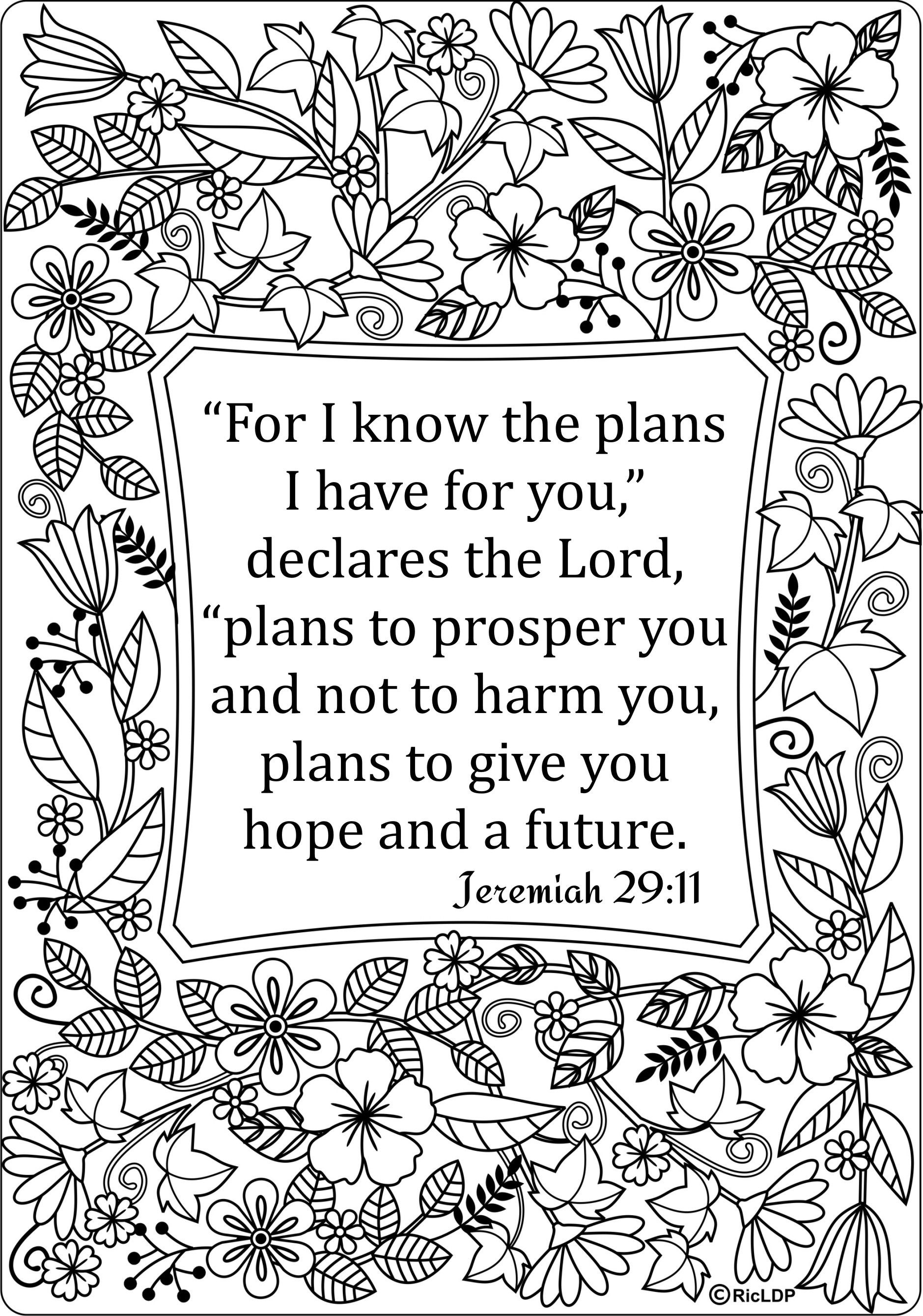15 Bible Verses Coloring Pages   Coloring Pages   Bible Verse - Free Printable Bible Coloring Pages With Verses