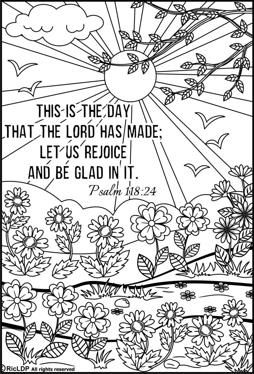 15 Bible Verses Coloring Pages | Coloring Pages | Bible Verse - Free Printable Bible Coloring Pages