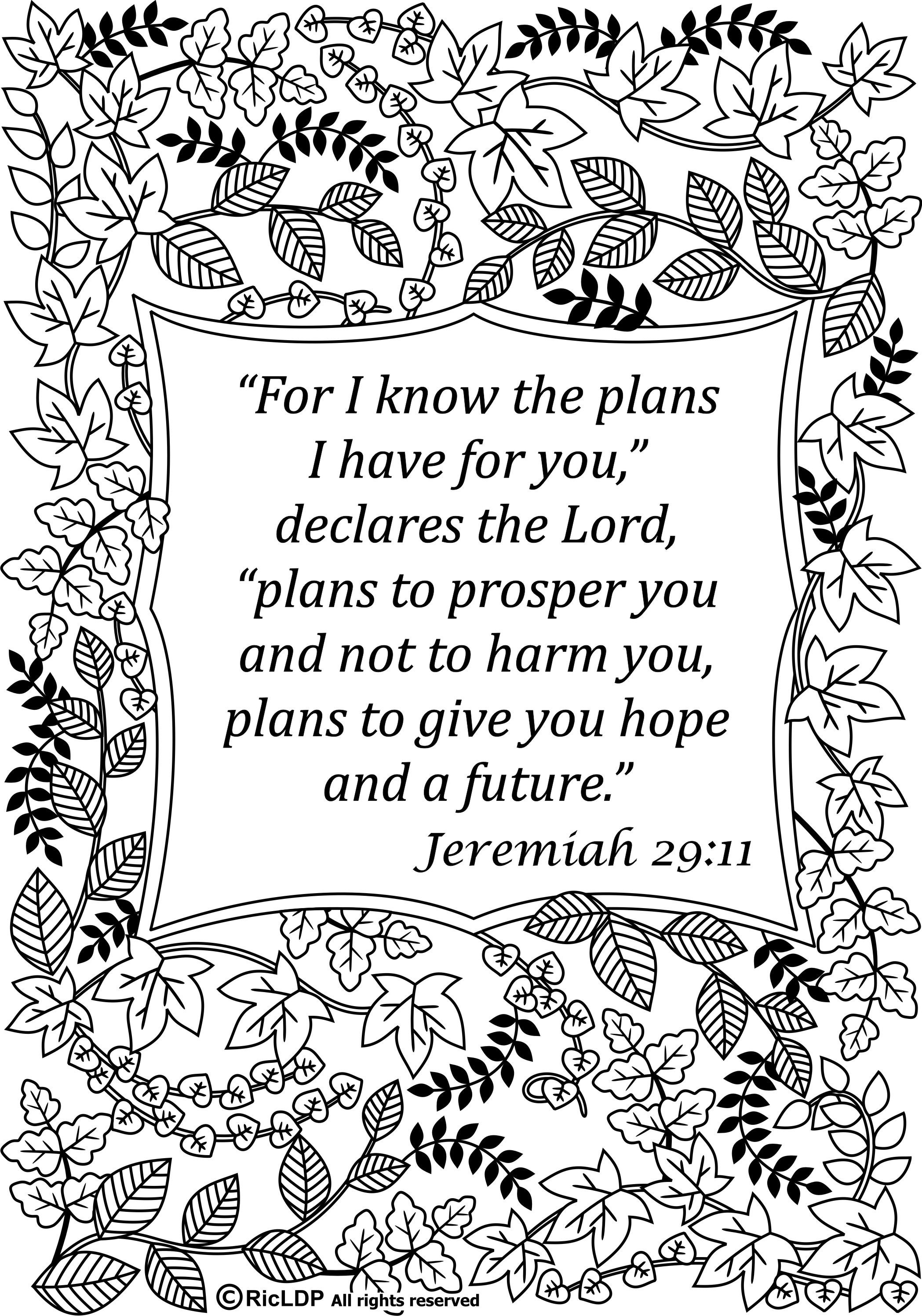 15 Bible Verses Coloring Pages   Coloring Pages With Bible Verses - Free Printable Bible Verses Adults