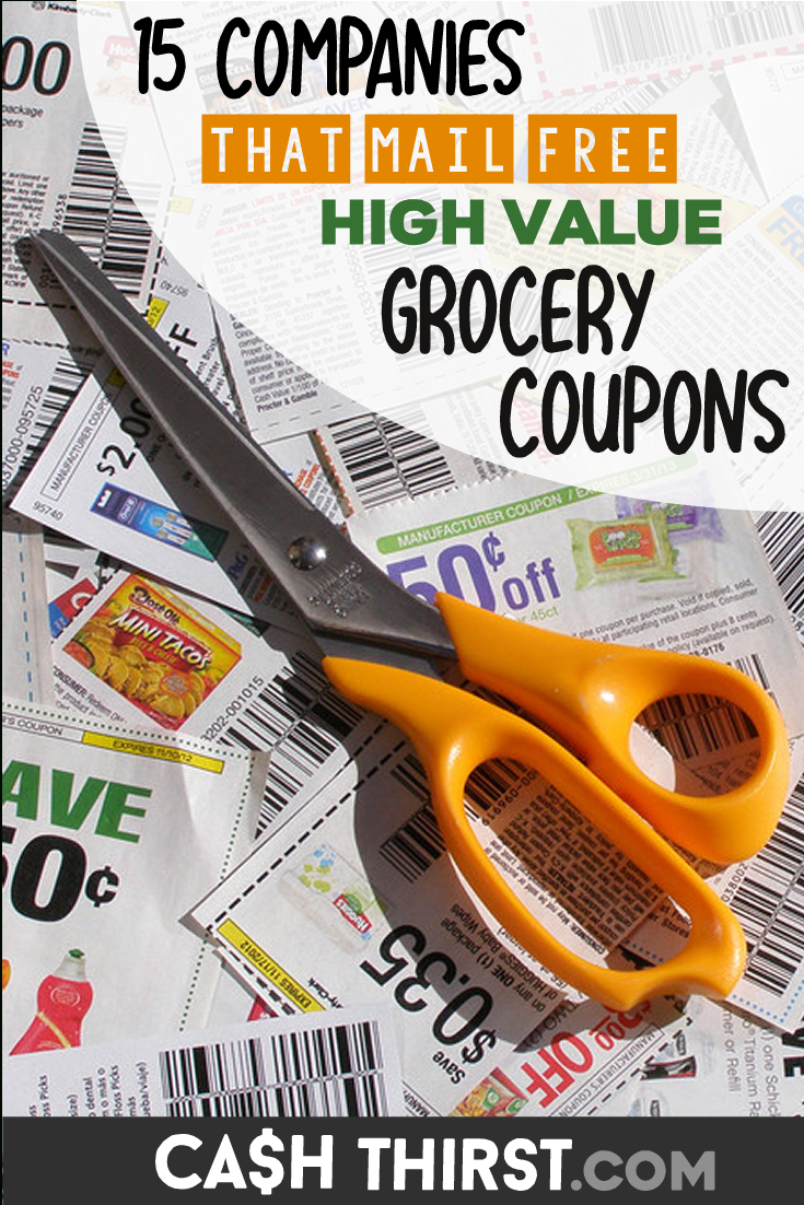 15 Companies That Send You Free High Value Grocery Coupons | Save - Free High Value Printable Coupons