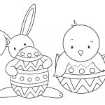 15 Easter Colouring In Pages   The Organised Housewife   Free Printable Easter Colouring Sheets