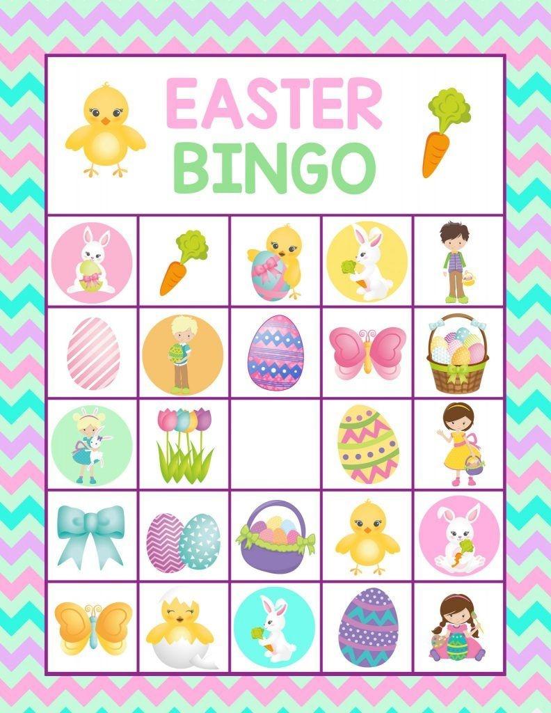 15 Fantastic Easter Bingo Cards For Merriment | Kittybabylove - Free Printable Religious Easter Bingo Cards