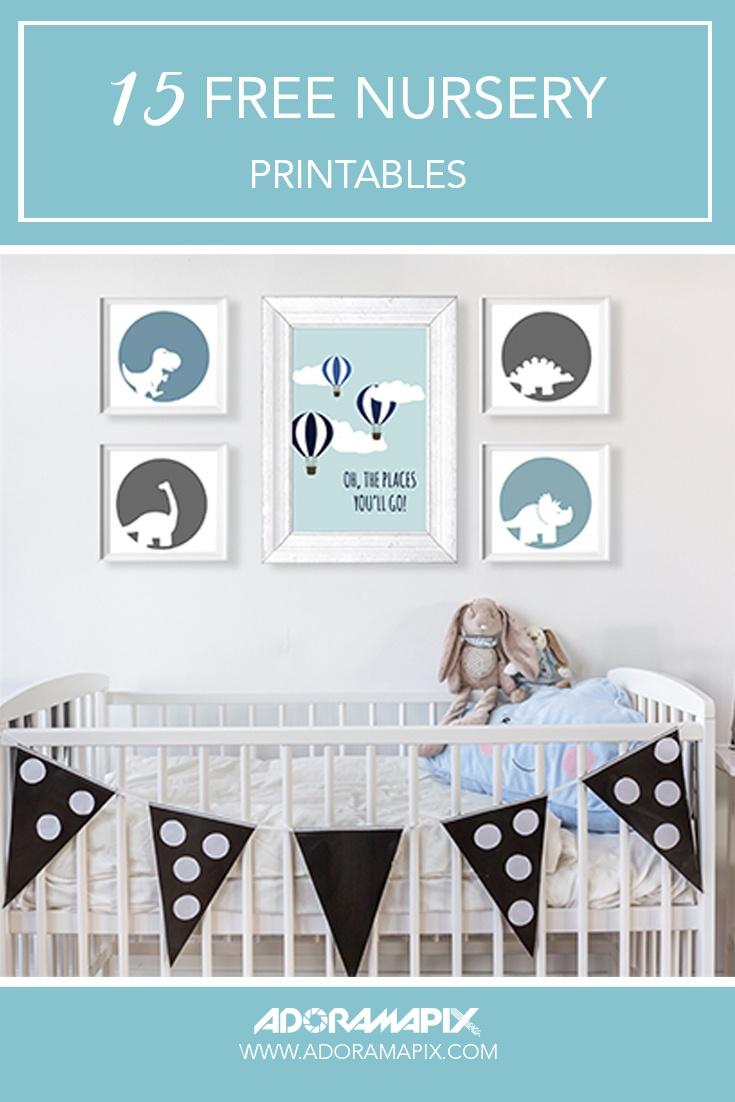 15 Free Nursery Printables - Free Printable Nursery Resources