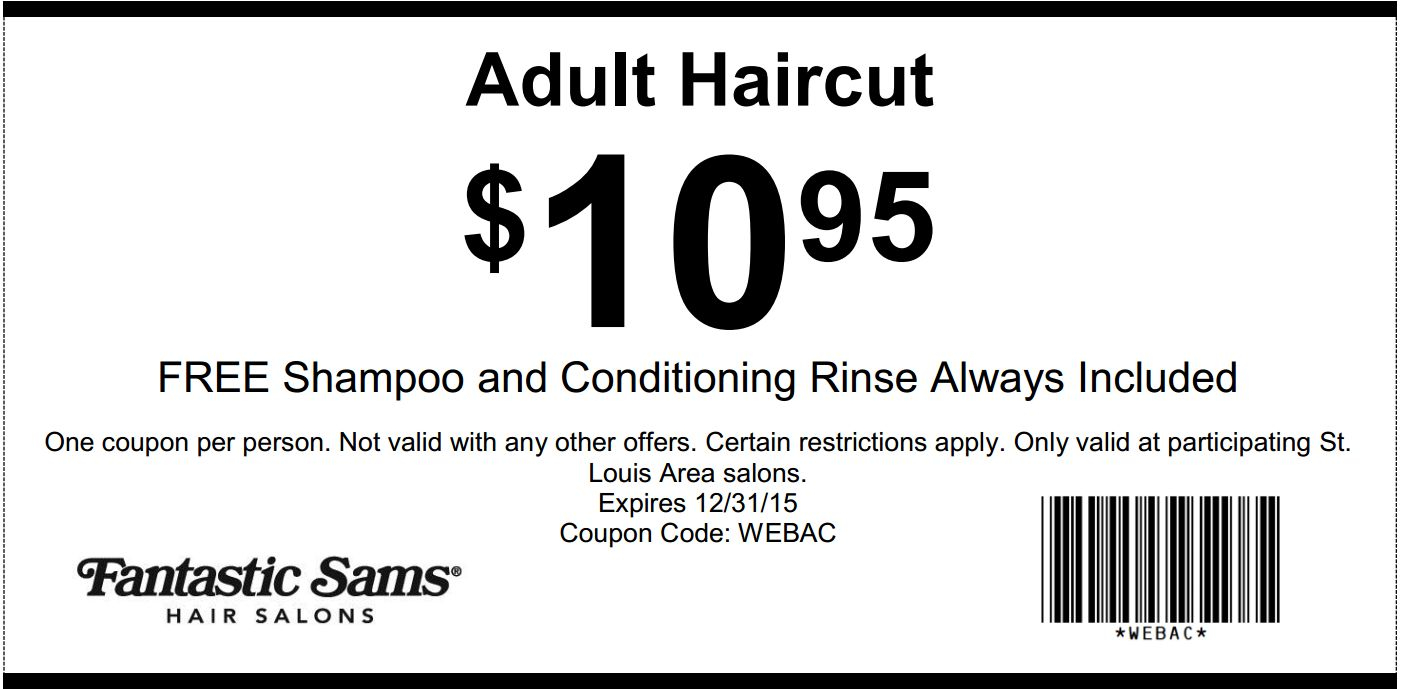 16 Fantastic Sams Haircut Coupons | Hairstyles Ideas - Free Printable Coupons For Fantastic Sams
