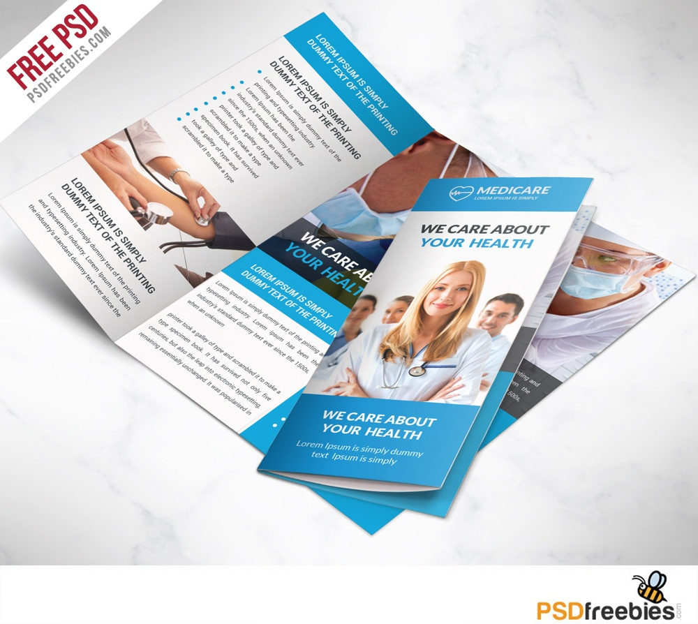16 Tri-Fold Brochure Free Psd Templates: Grab, Edit & Print - Free Printable Brochure Maker Download