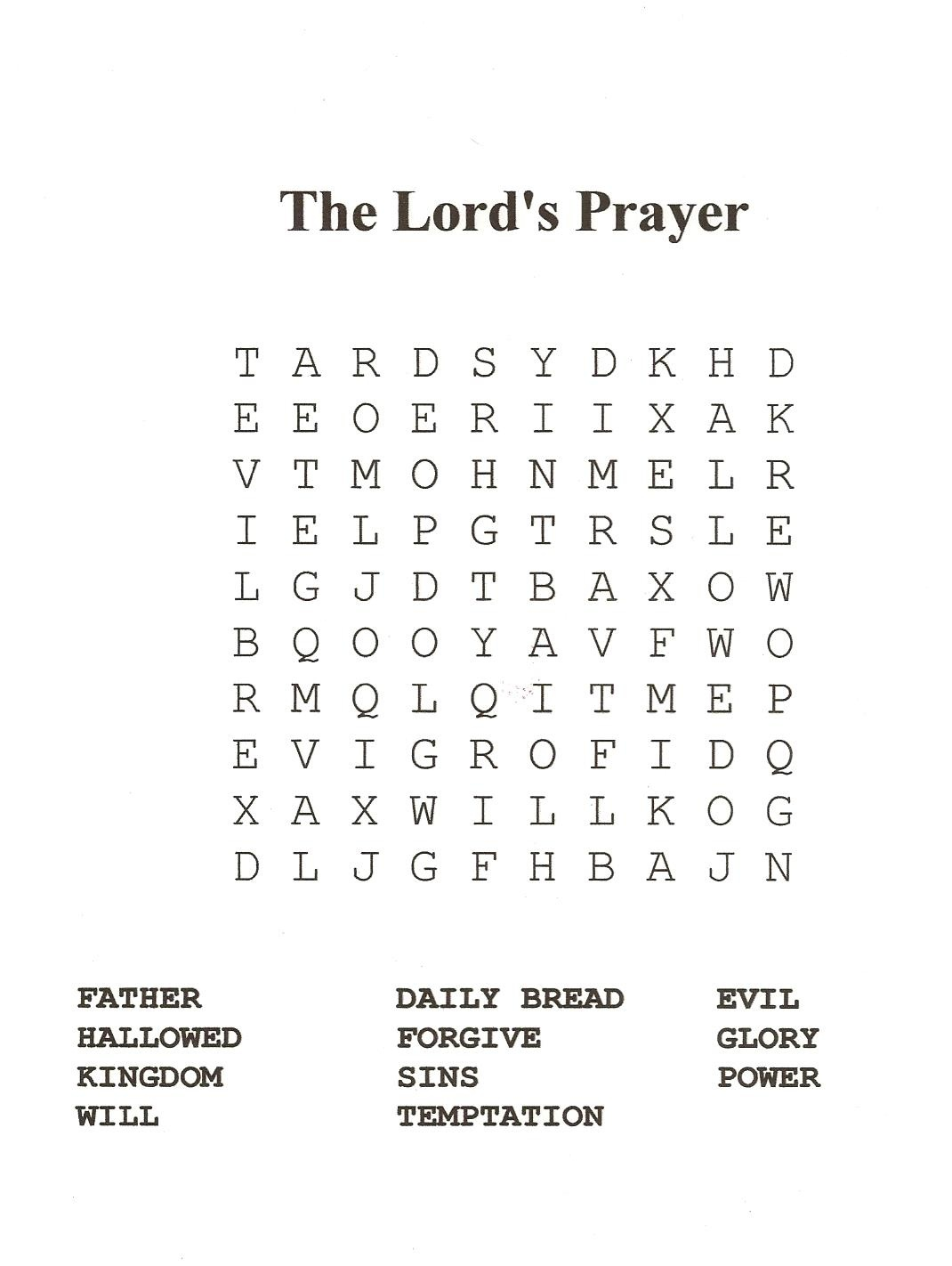 18 Fun Printable Bible Word Search Puzzles   Kittybabylove - Christian Word Search Puzzles Free Printable