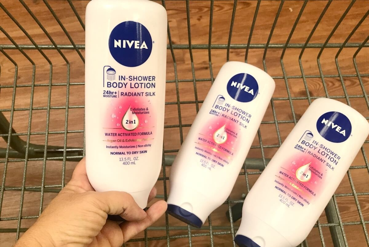 2 Free Nivea In-Shower Body Lotion At Shoprite! {9/9}Living Rich - Free Printable Nivea Coupons