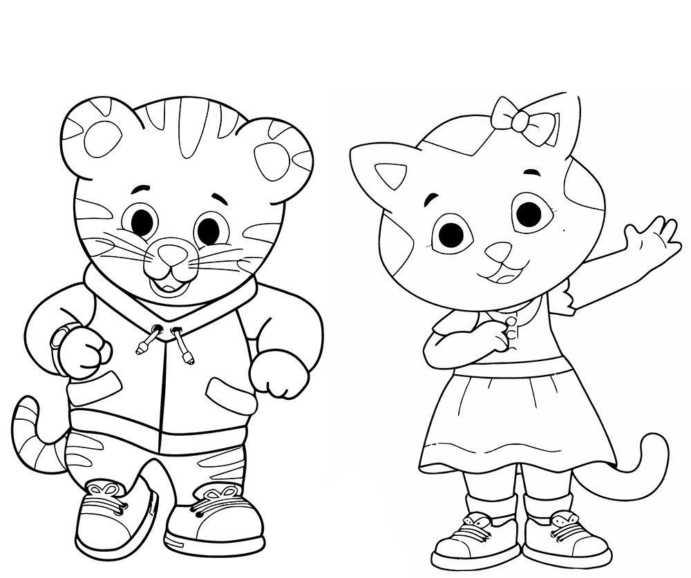 20 Daniel Tiger Halloween Coloring Page   Ayla Coloring   Daniel - Free Printable Daniel Tiger Coloring Pages