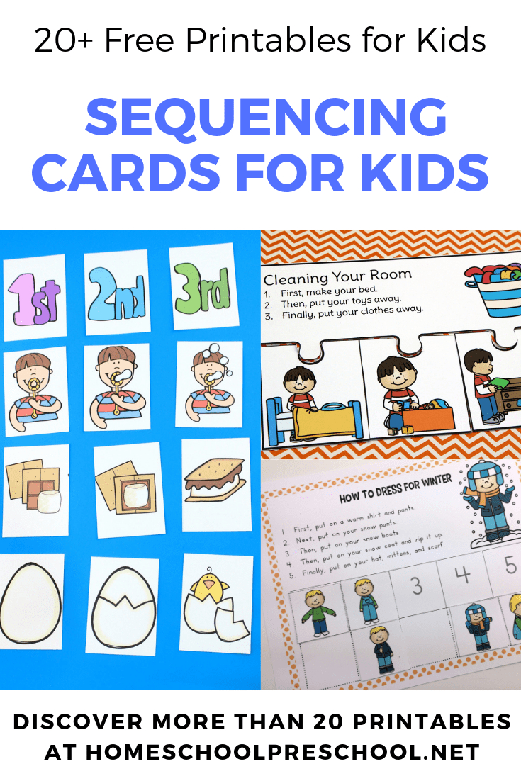 20 Free Printable Sequencing Cards For Preschoolers - Free Printable Sequencing Cards