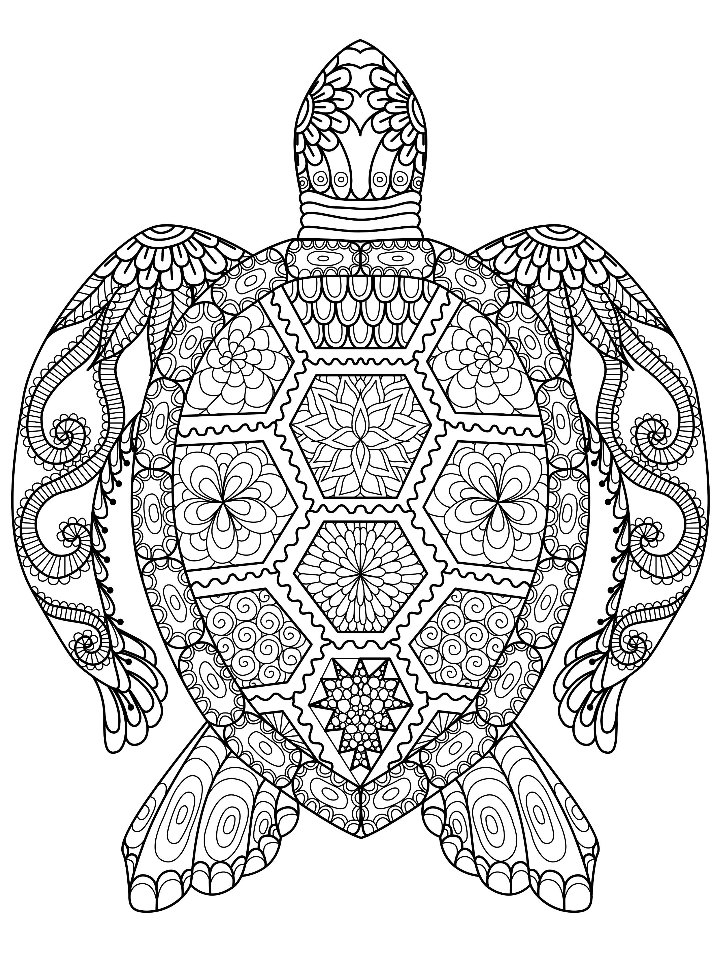 20 Gorgeous Free Printable Adult Coloring Pages | Coloring--Back To - Free Printable Coloring Books For Adults