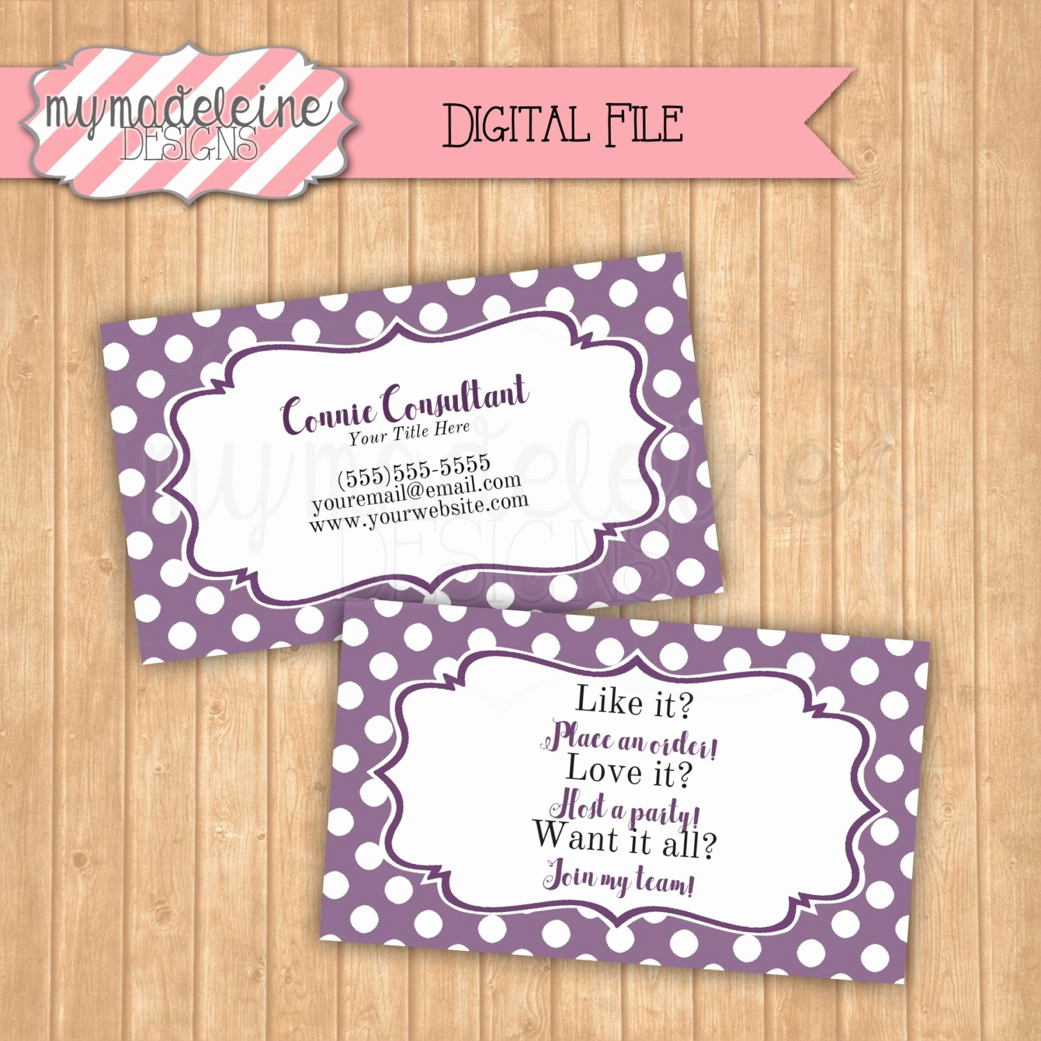 20 Scentsy Business Card Template New Scentsy Business Card Template - Free Printable Scentsy Business Cards