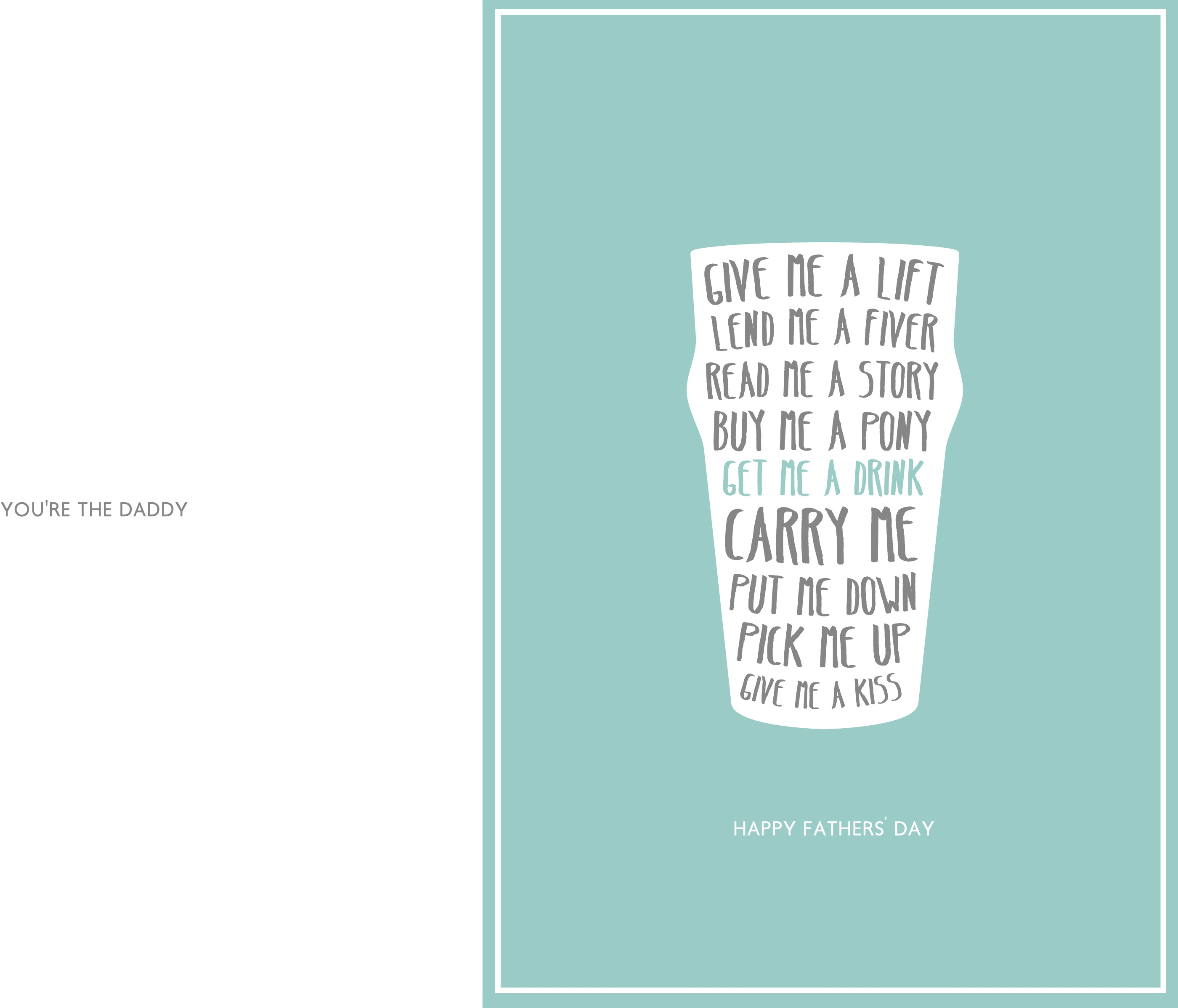 24 Free Printable Father's Day Cards | Kittybabylove - Free Printable Father's Day Card From Wife To Husband