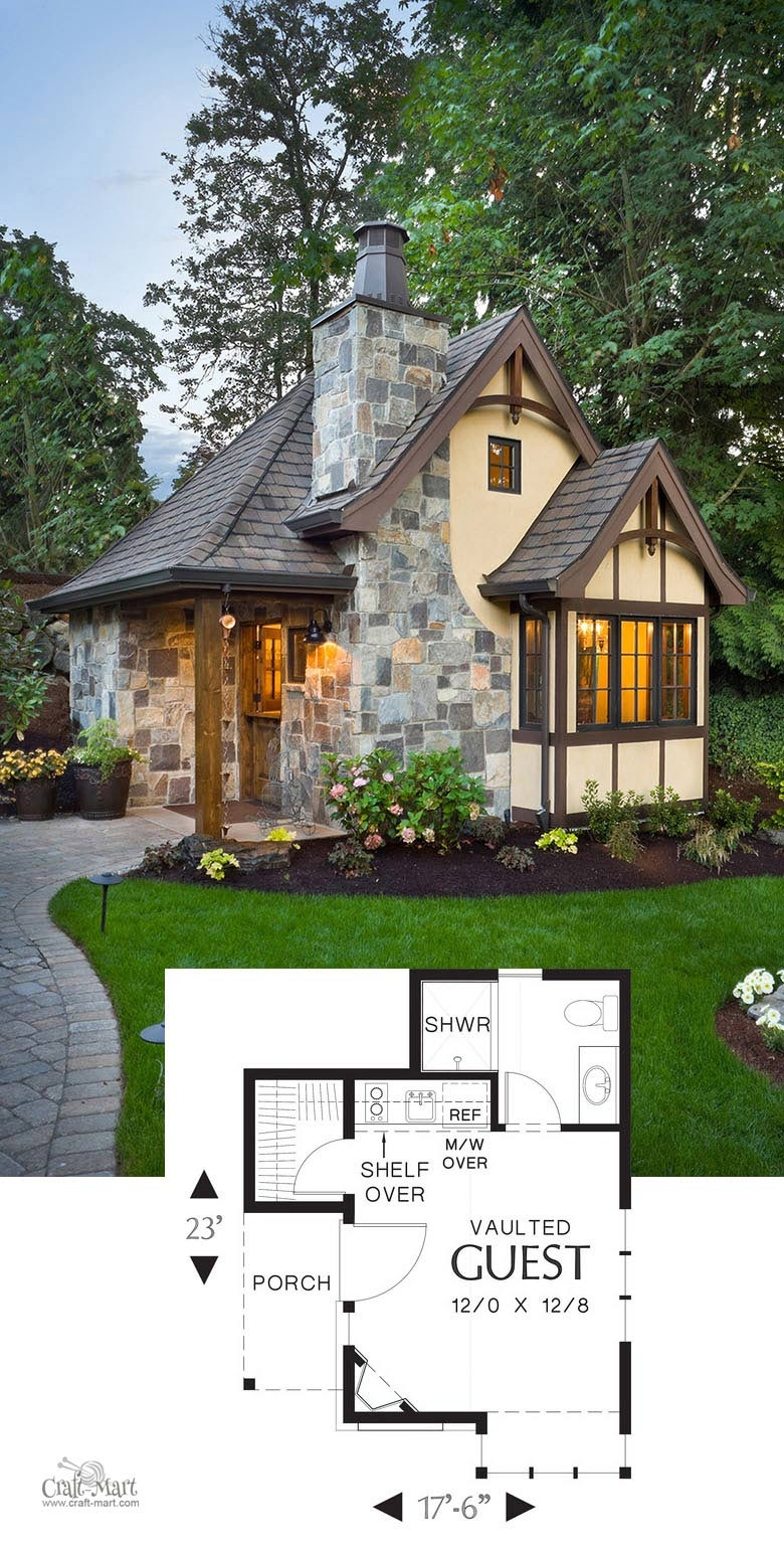 27 Adorable Free Tiny House Floor Plans - Craft-Mart - Free Printable Small House Plans