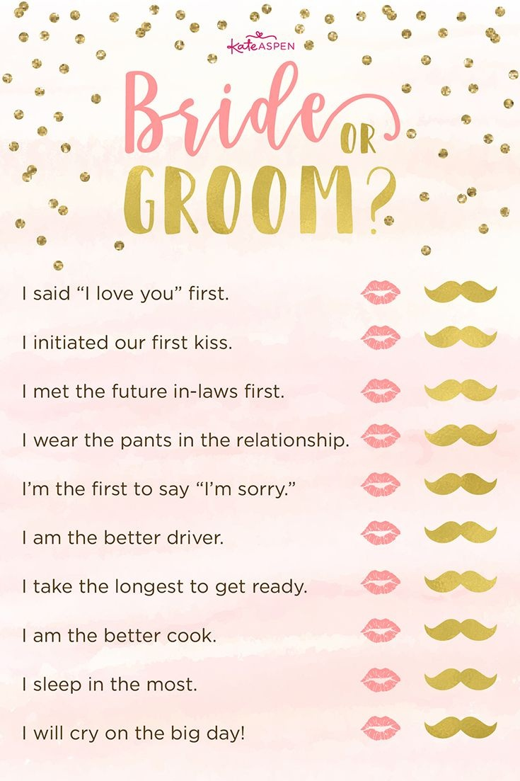 3 Bridal Shower Games + Free Printables | Free Printables + - How Well Does The Bride Know The Groom Free Printable