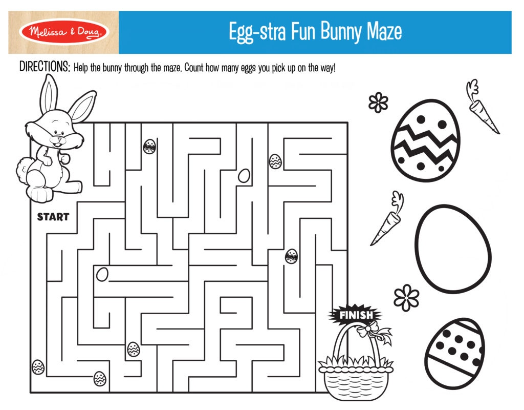 3 Free Printables For Easter Activities! | Melissa & Doug Blog - Free Printable Craft Activities