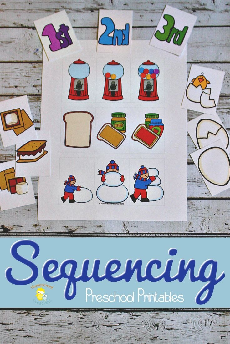 3 Step Sequencing Cards Free Printables For Preschoolers - Free Printable Sequencing Cards