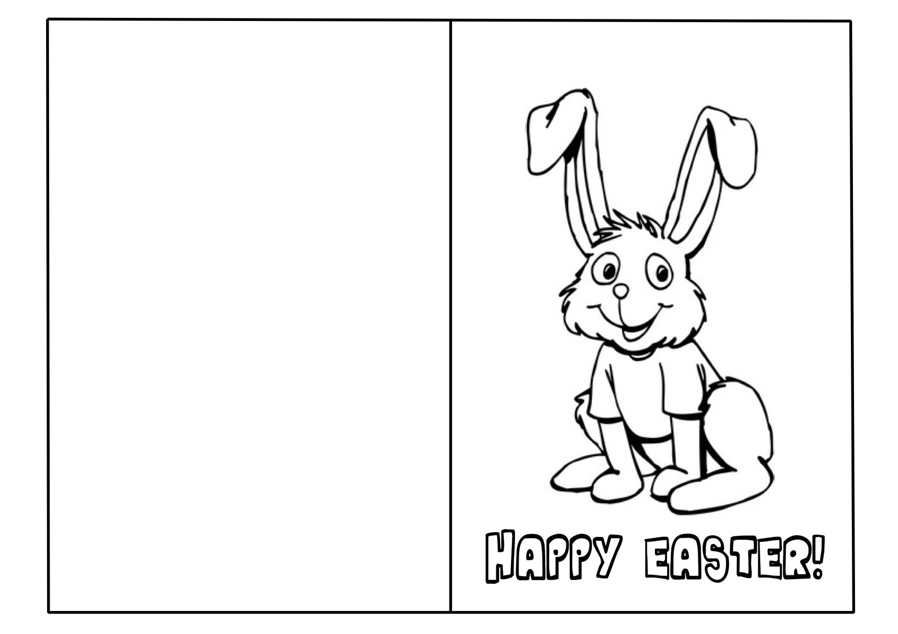 32 Free Printable Easter Cards | Kittybabylove - Free Printable Cards To Color