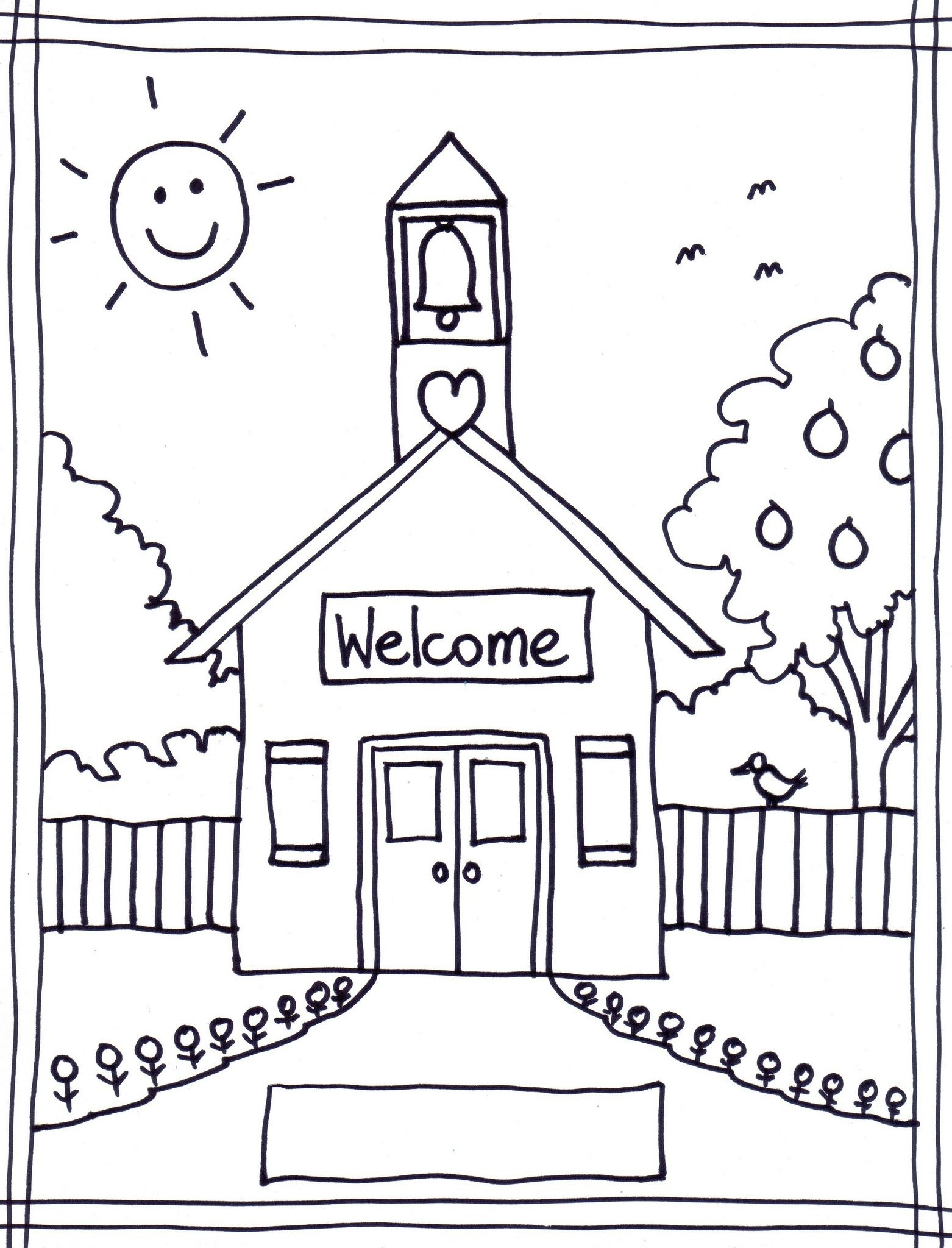 33 Best Back To School Coloring Pages Free Printables For Gianfreda - Back To School Free Printable Coloring Pages