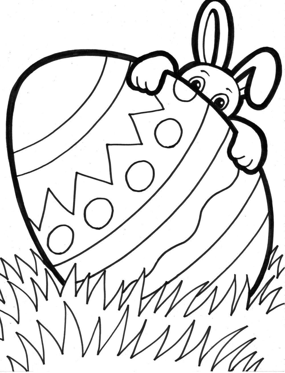 """33 """"happy Easter Coloring Pages"""" Free Printable Pictures For Kids - Free Printable Easter Coloring Pages For Toddlers"""