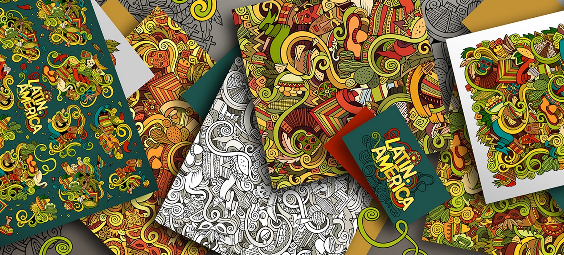 39+ Doodle Patterns & Backgrounds | Free & Premium Templates - Free Printable Doodle Patterns