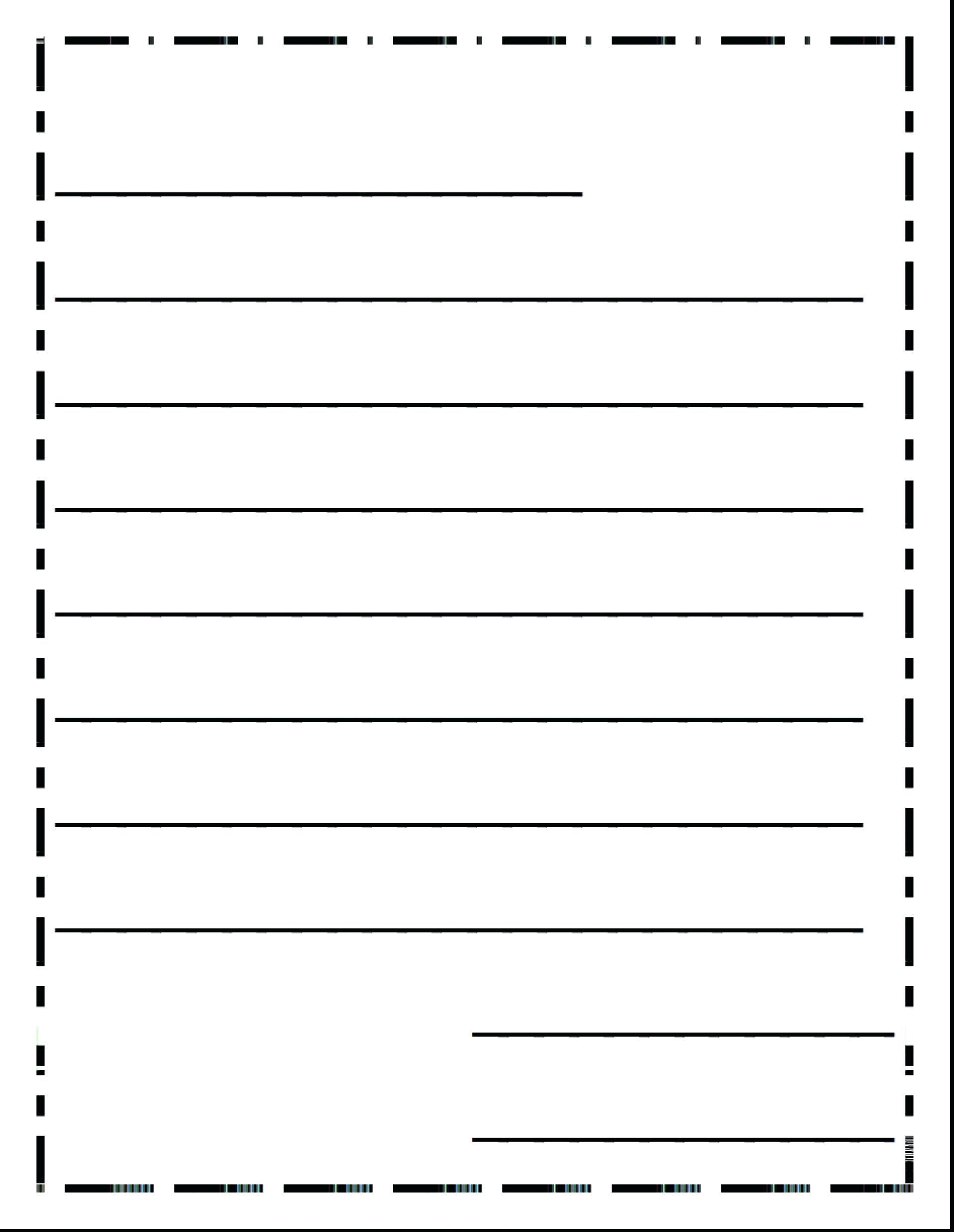 3Rd Grade Writing Paper - Floss Papers - Free Printable Letter Writing Templates