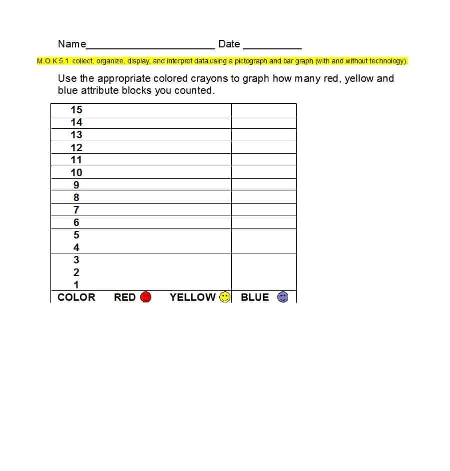 41 Blank Bar Graph Templates [Bar Graph Worksheets] ᐅ Template Lab - Free Printable Bar Graph