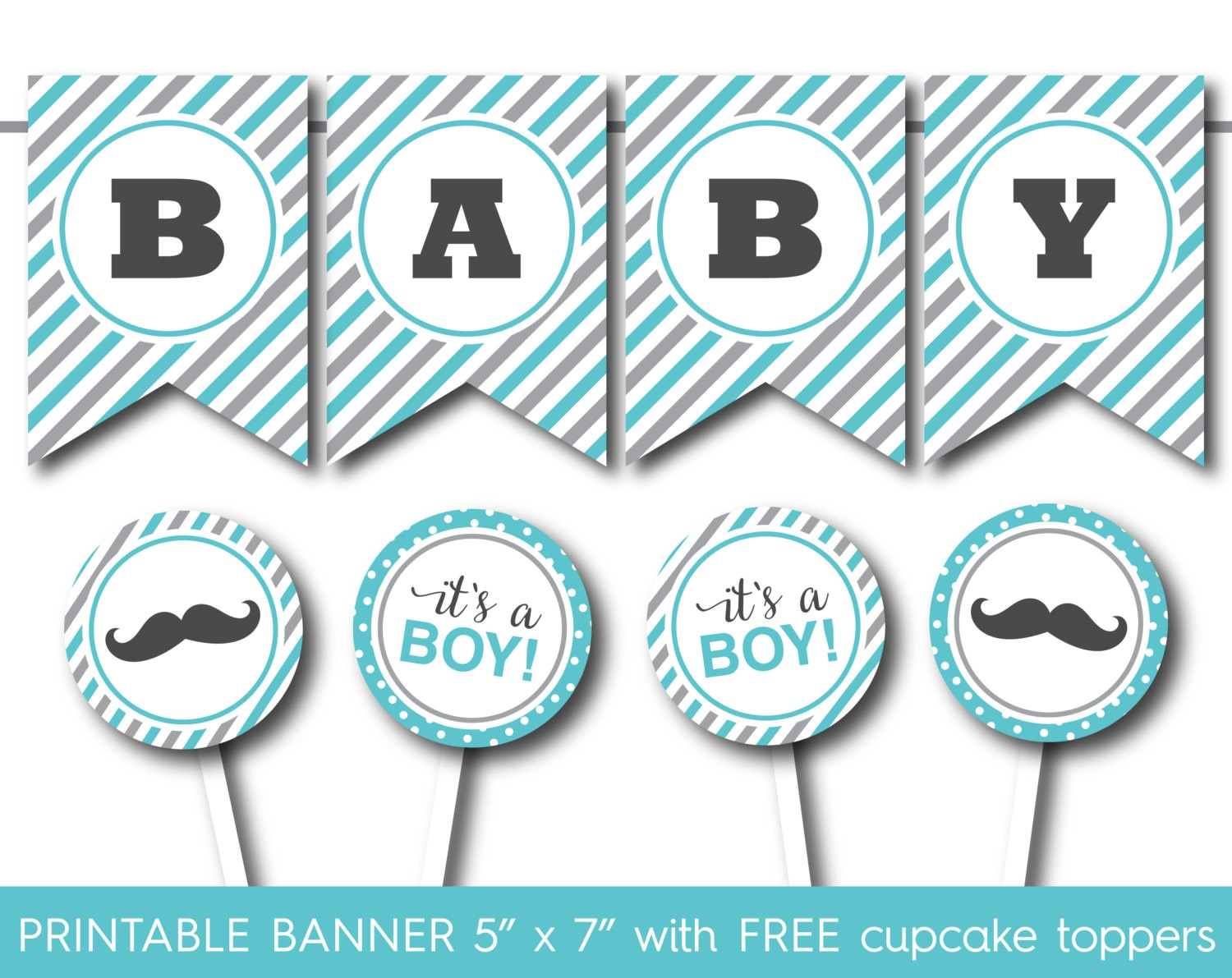 44 Cool Banner Letters | Kittybabylove - Free Printable Baby Shower Banner Letters