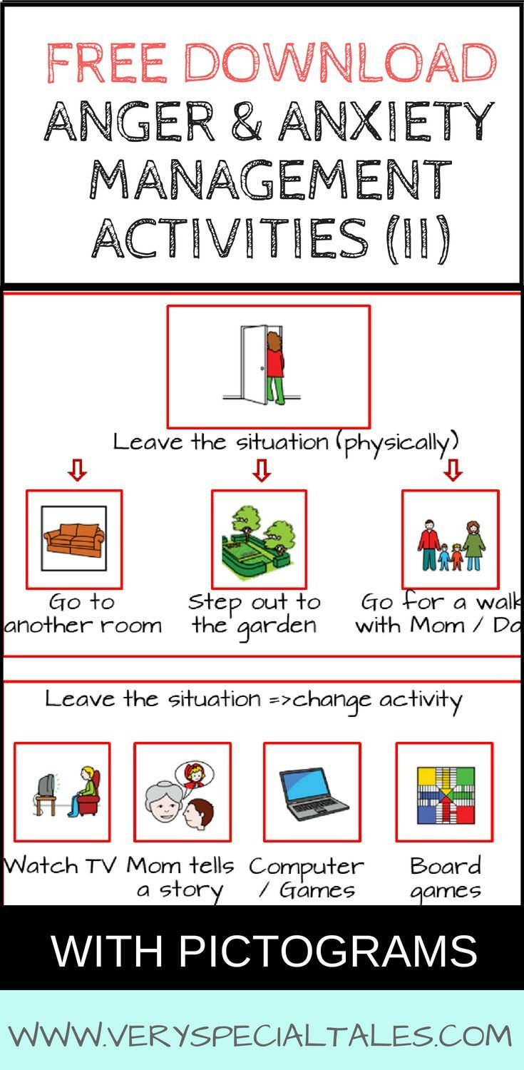 46 Anger Management Activities For Kids: How To Help An Angry Kid - Free Printable Anger Management Activities