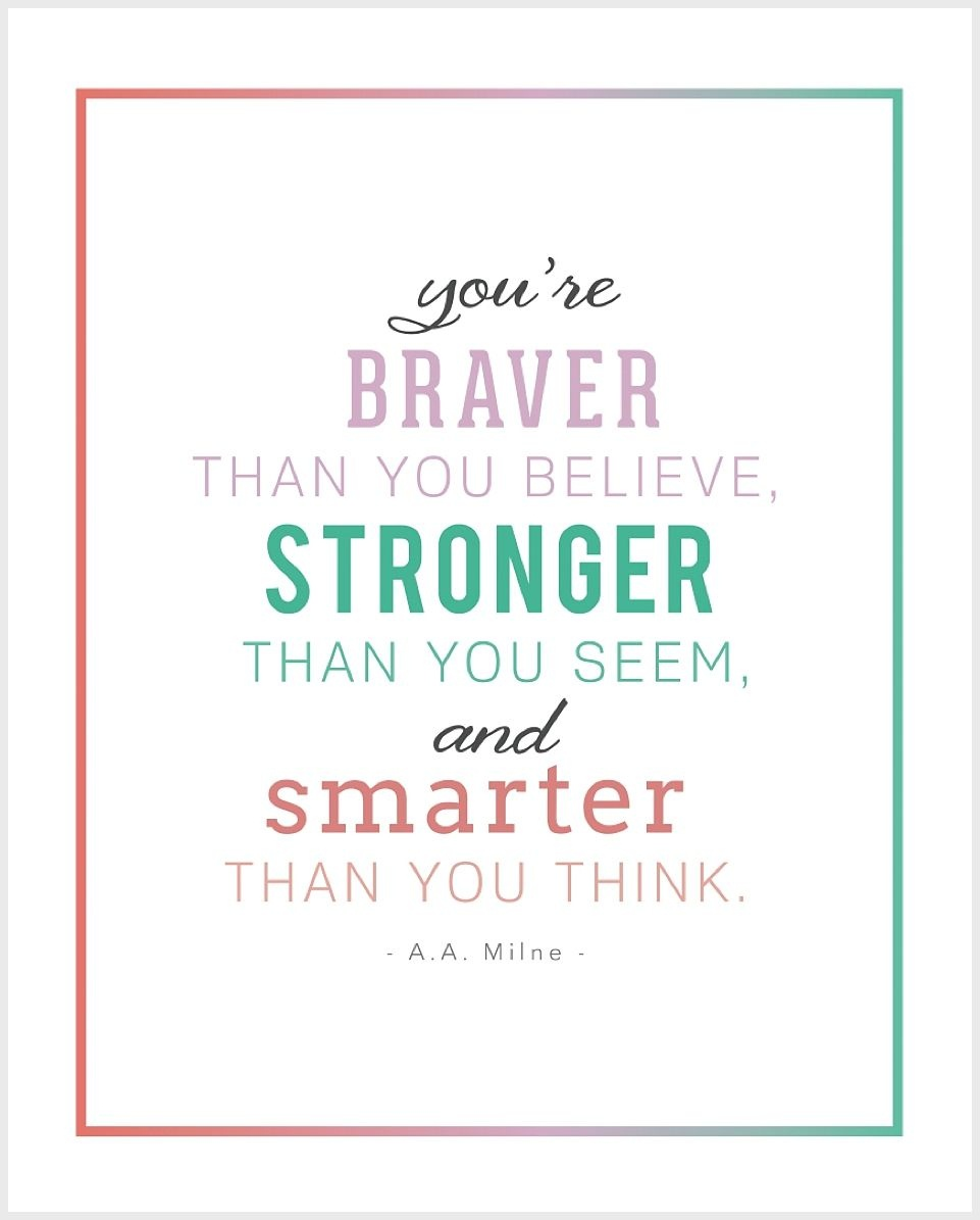 5 Free Printable Inspirational Children's Quotes   Thoughtful - Free Printable Inspirational Quotes