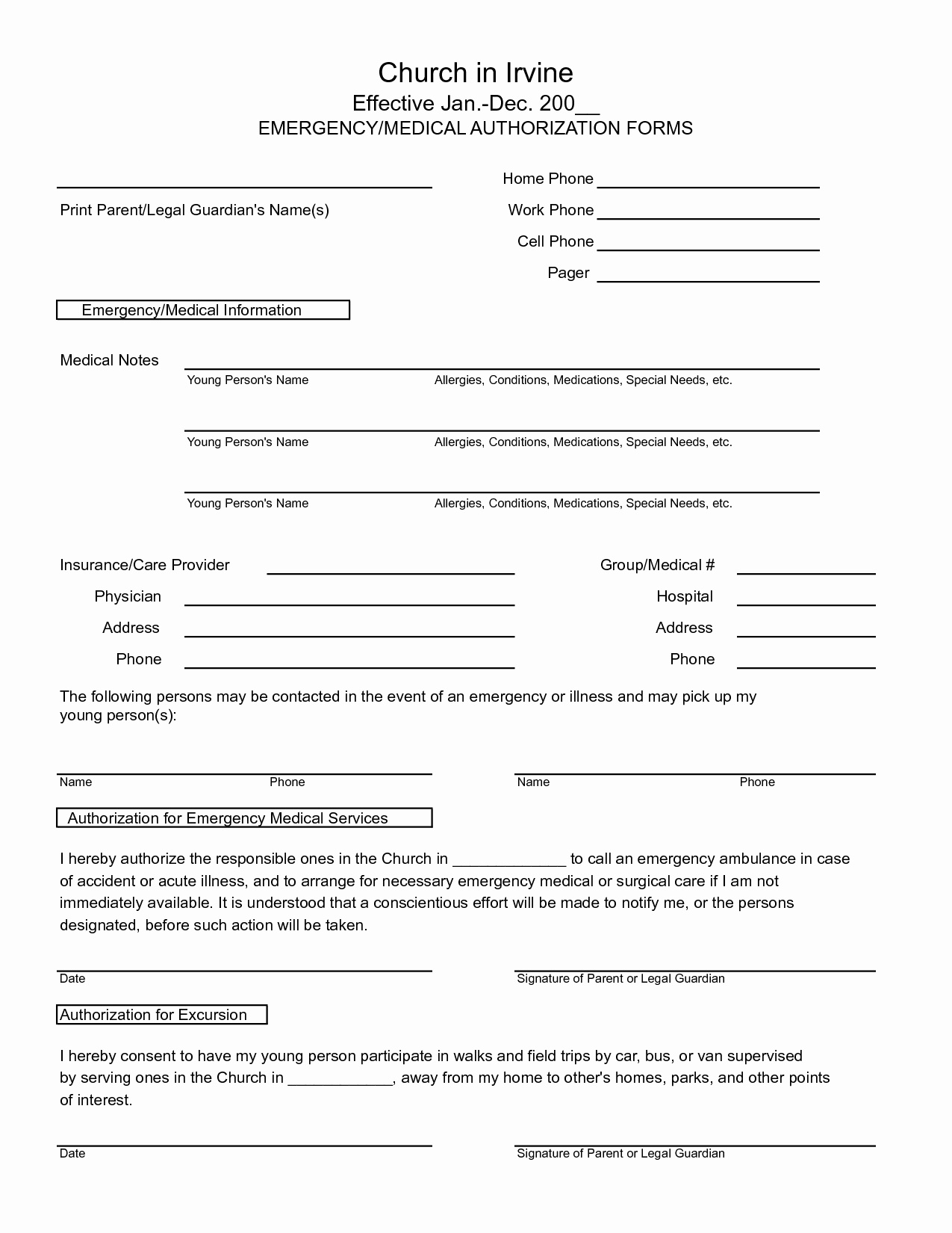 50 Free Medical Forms Templates | Culturatti - Free Printable Medical Forms
